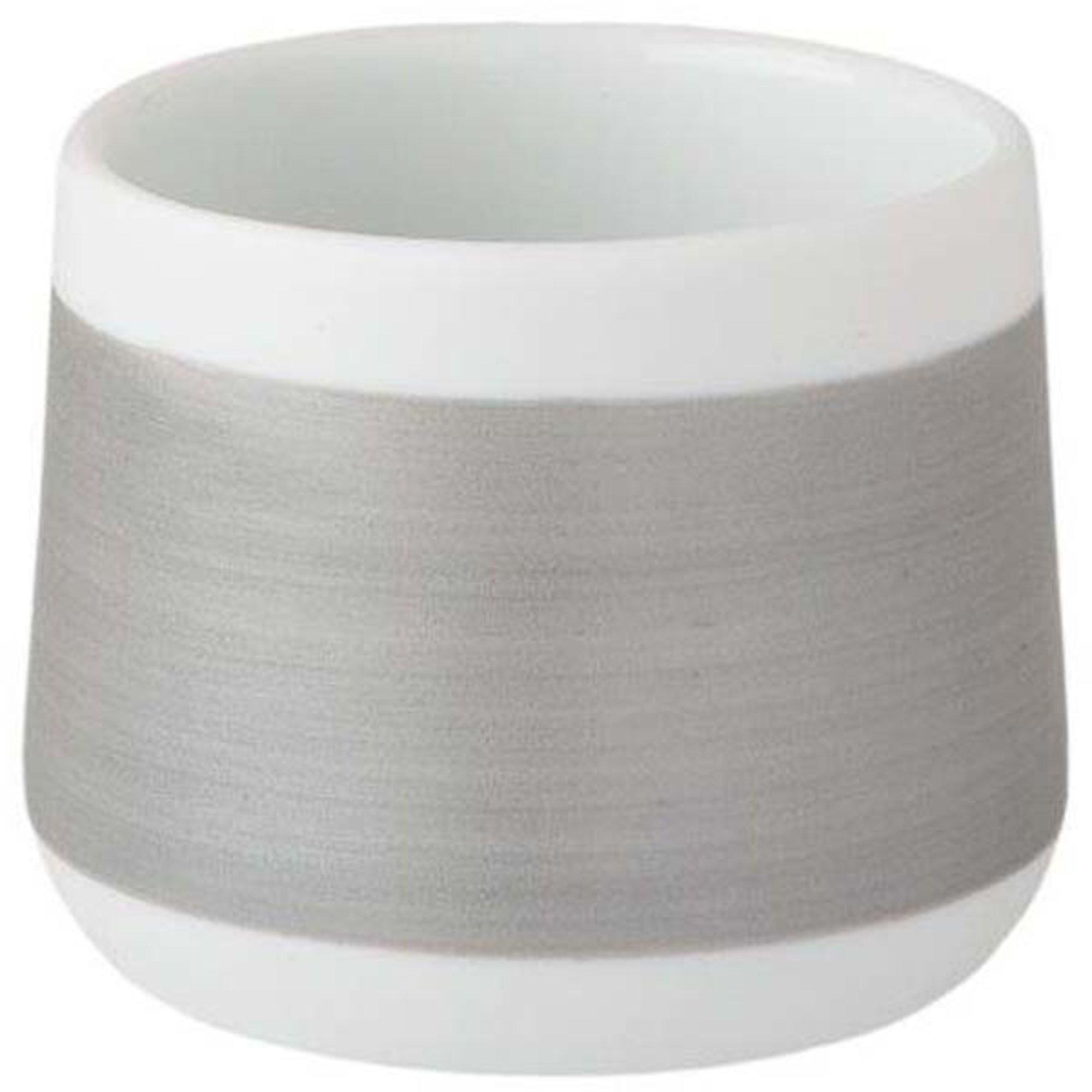 Wik & Walsøe Håndmalt Ljuslykta 5,5 cm Silver
