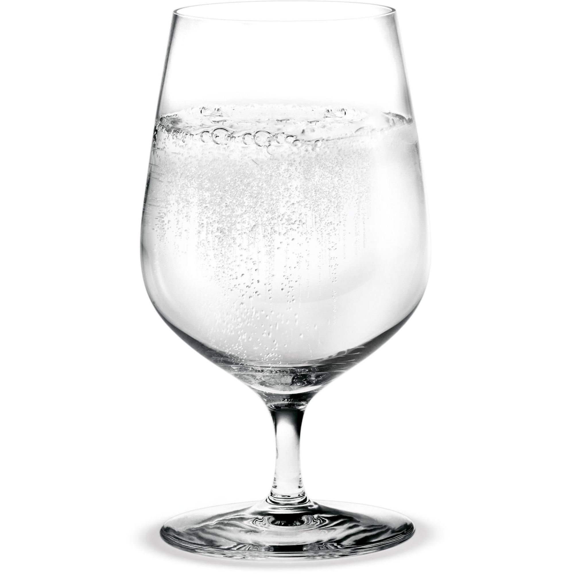 Holmegaard Cabernet vattenglas med stjälk