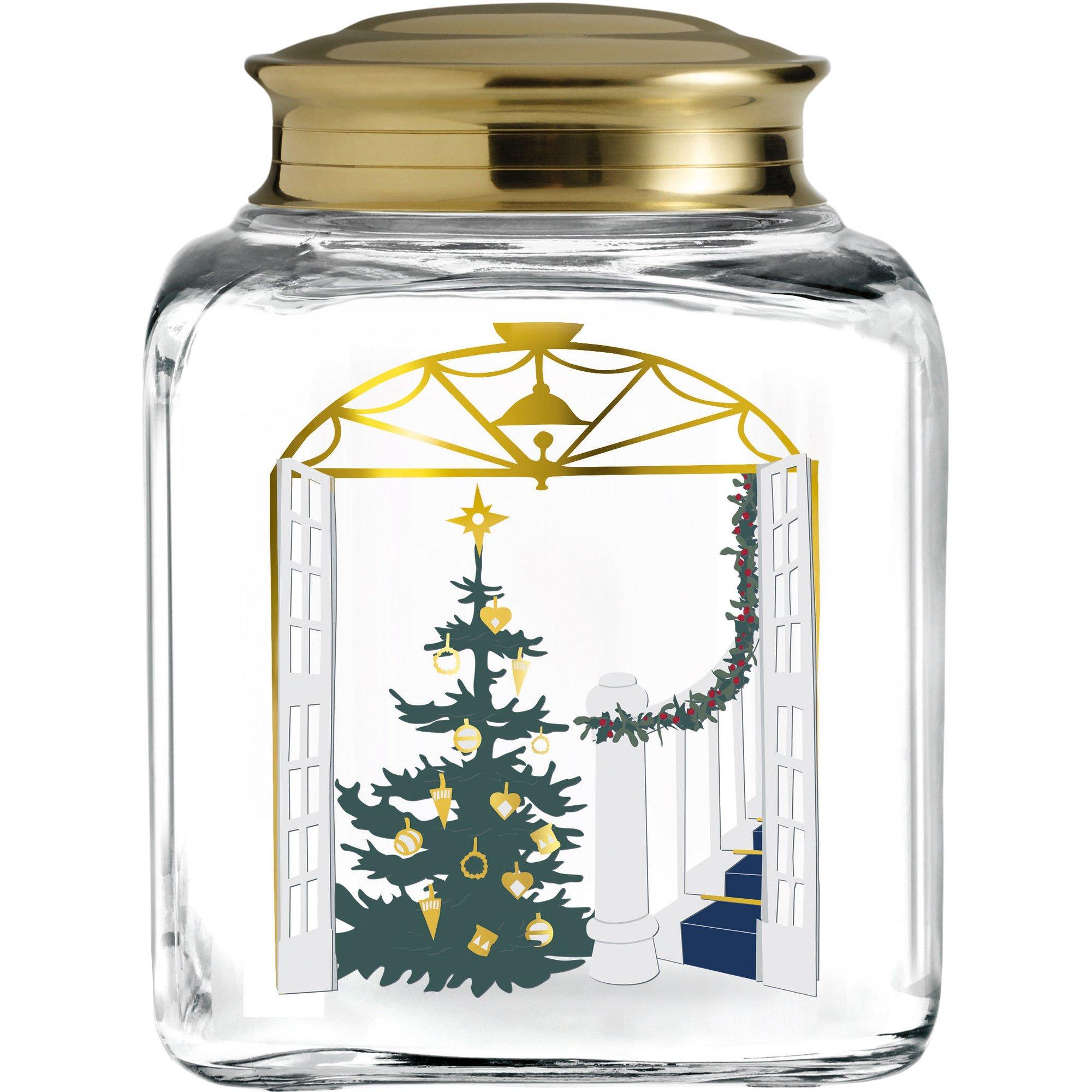 Holmegaard Christmas Jul kakburk 16 cm