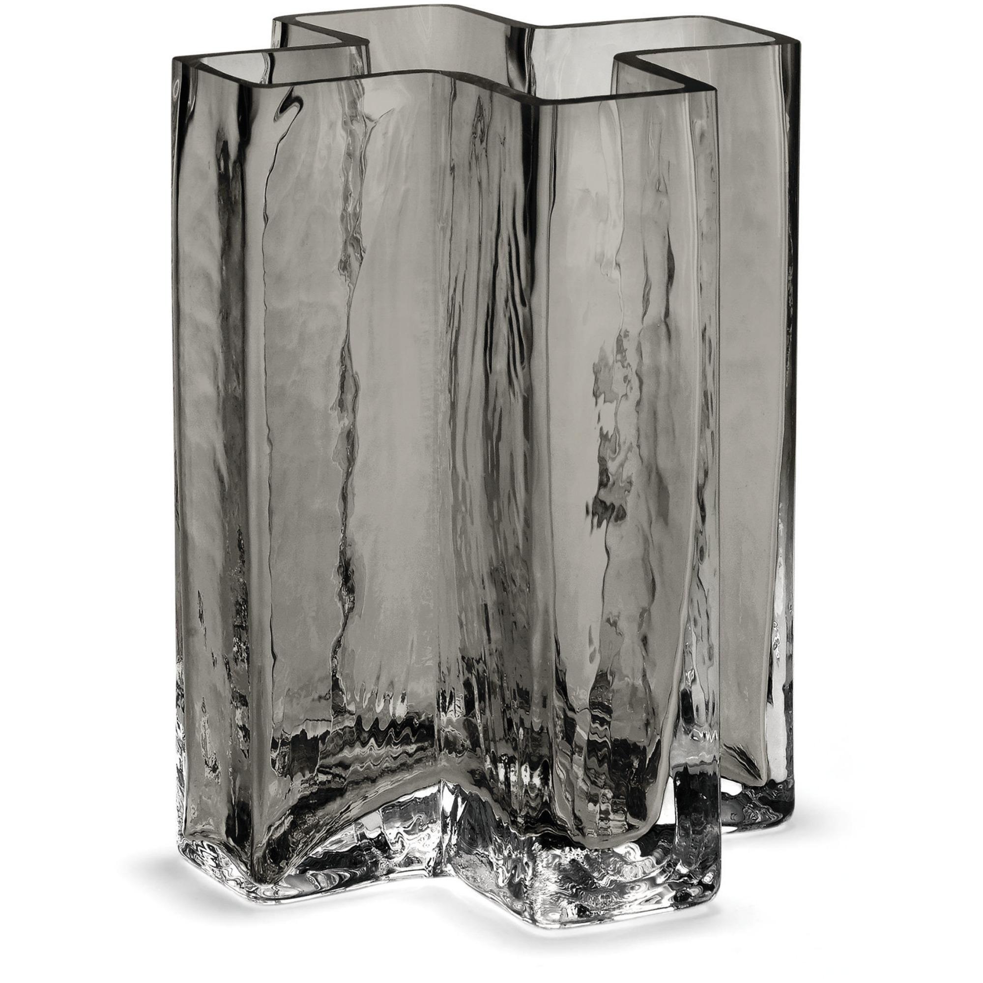 Holmegaard Crosses Vas Smoke 12 cm