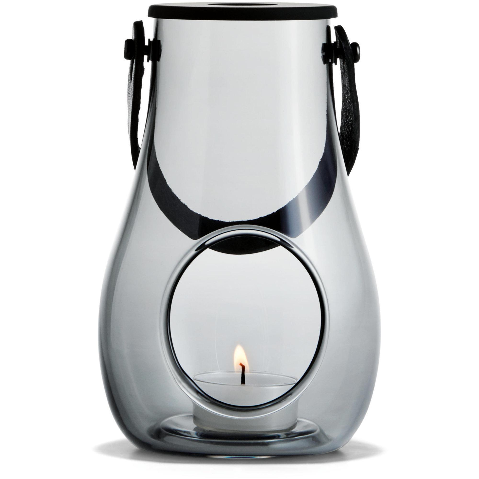 Holmegaard DWL Lanterna Rökgrå 16 cm