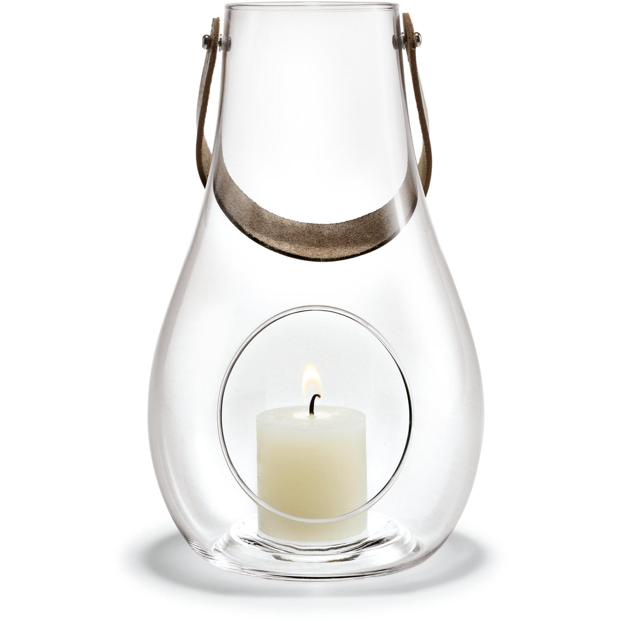 Holmegaard DWL Lanterna 25 cm. klar