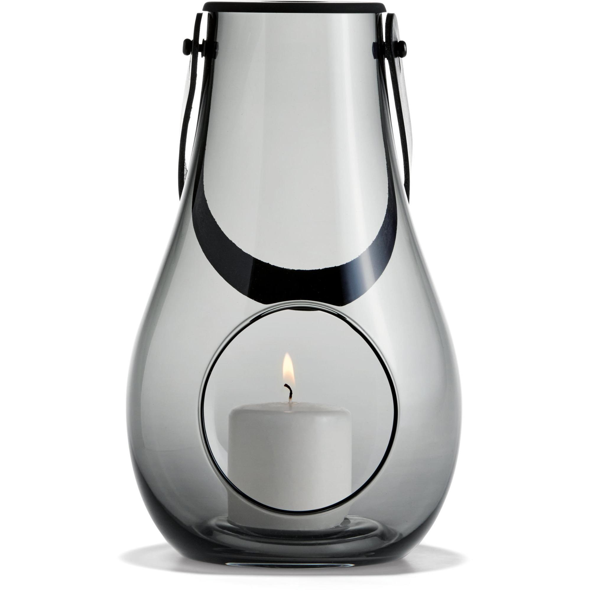 Holmegaard DWL Lanterna Rökgrå 25 cm