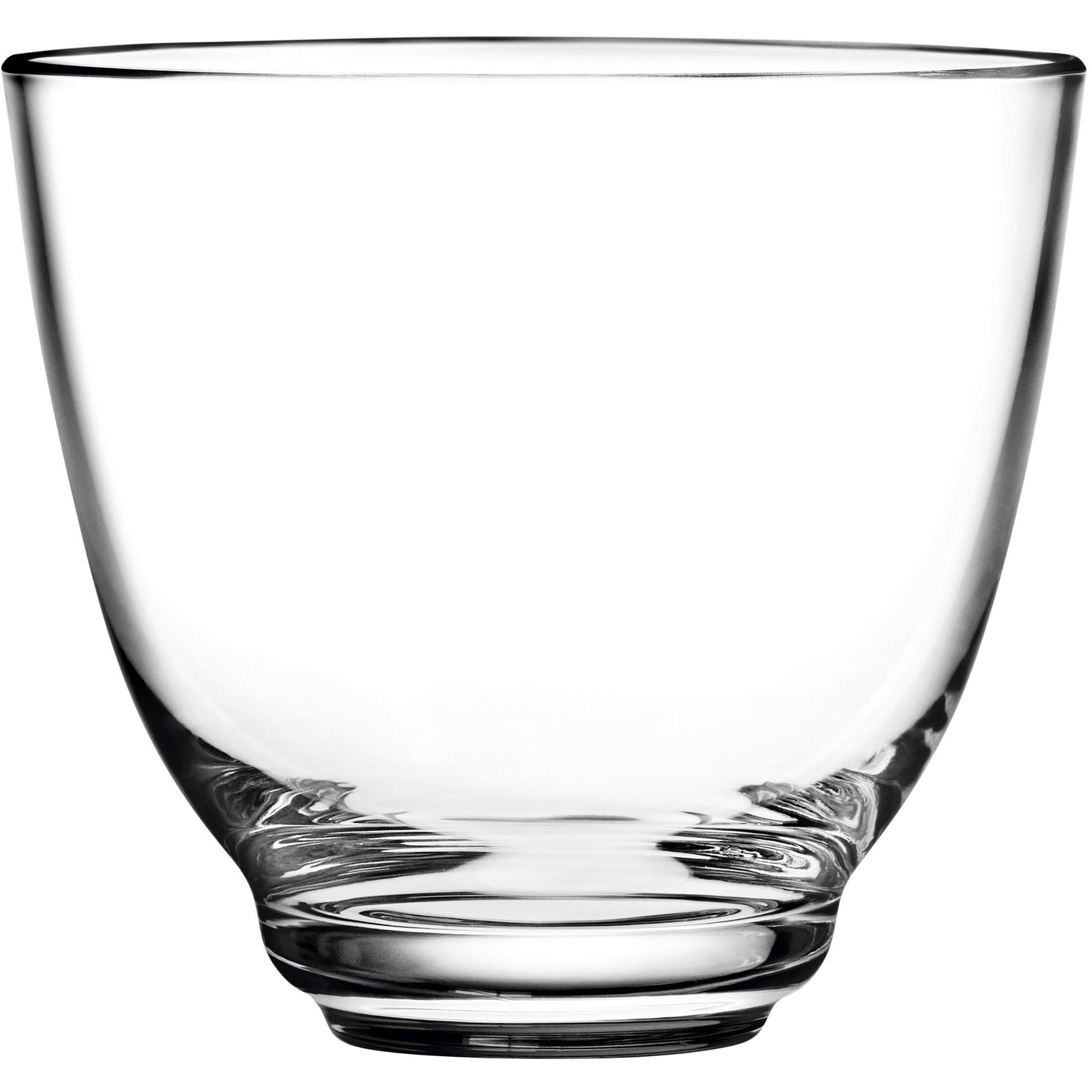 Holmegaard Flow vattenglas 35 cl. klar