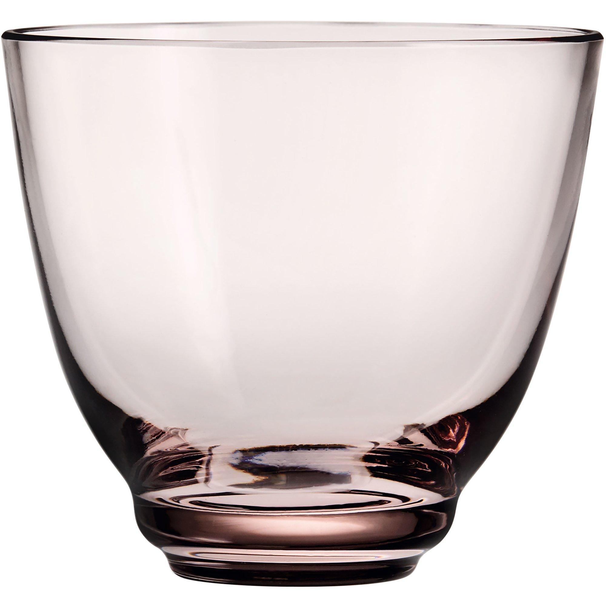 Holmegaard Flow vattenglas 35 cl. rosa