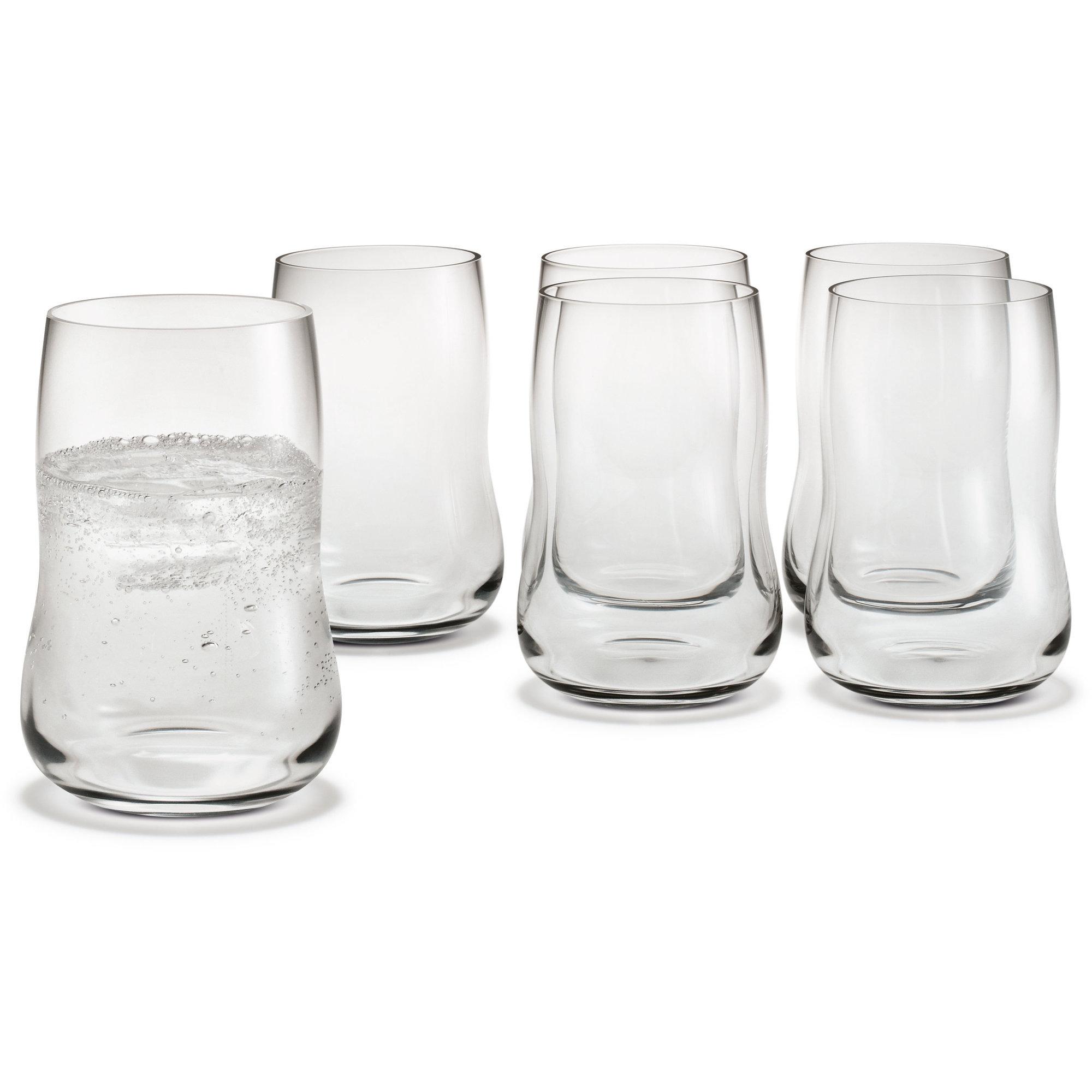 future vattenglas 6 pack fr n holmegaard snabb leverans. Black Bedroom Furniture Sets. Home Design Ideas