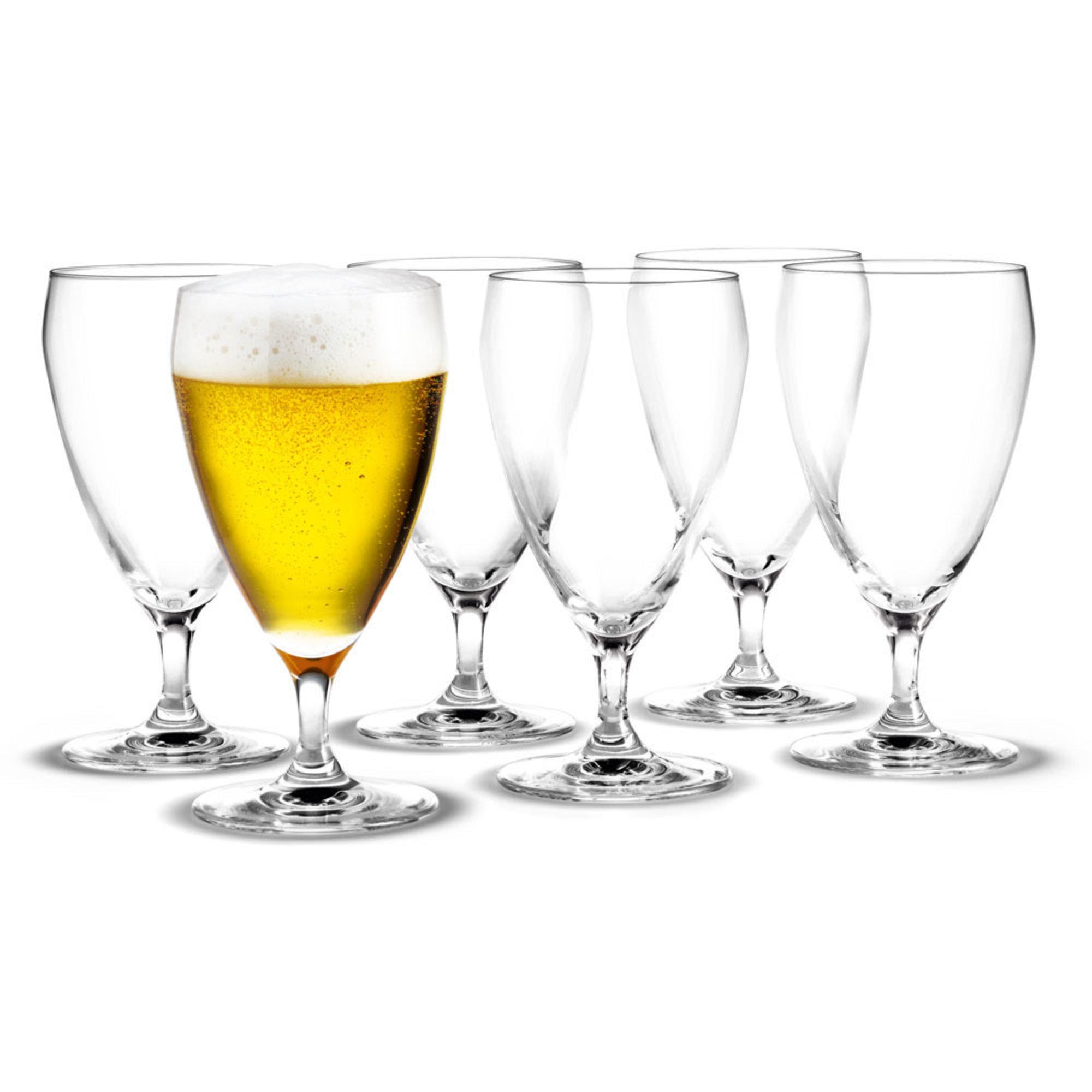 Holmegaard Perfection Ölglas 6-pack