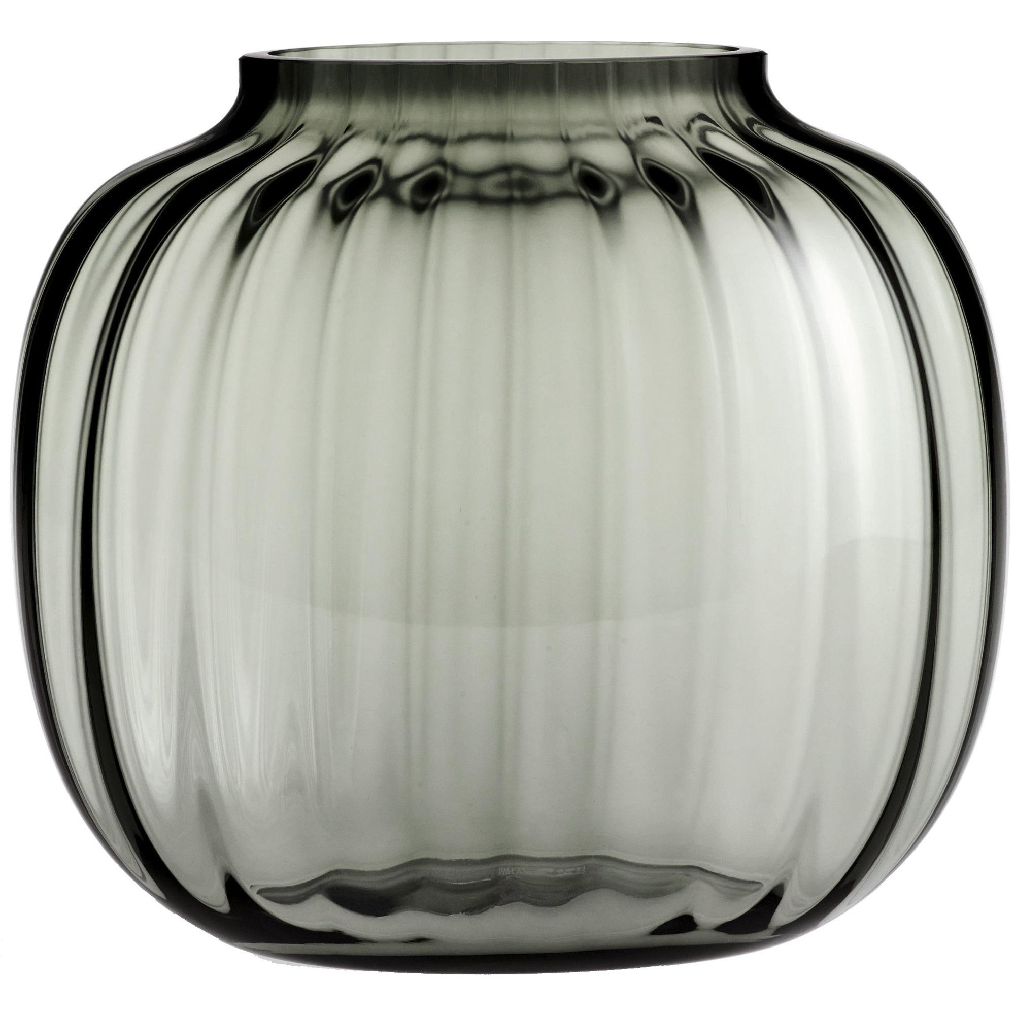 Holmegaard Primula Oval Vas 175 cm Smoke