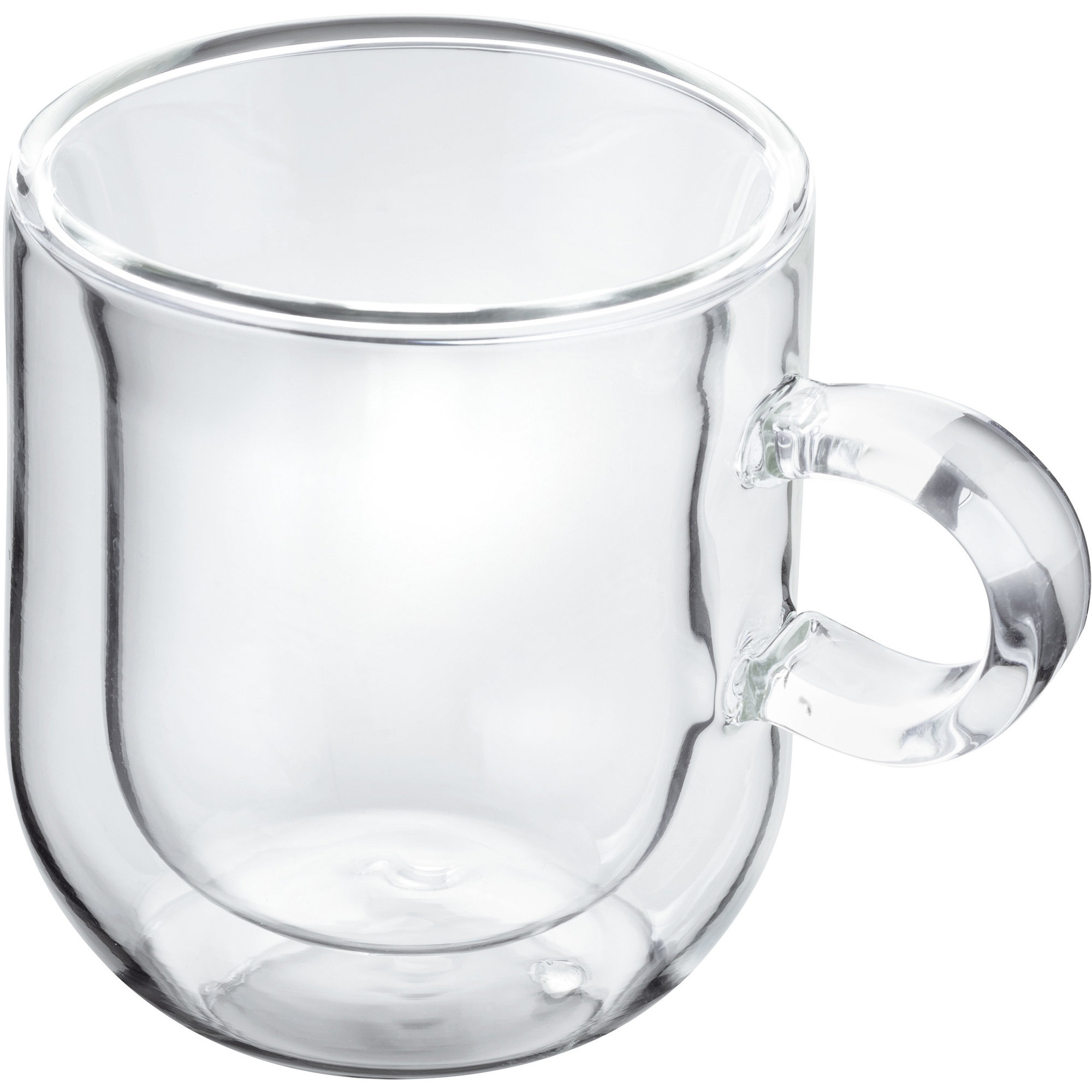 Horwood Glass double wall Espresso set of 2 75ml