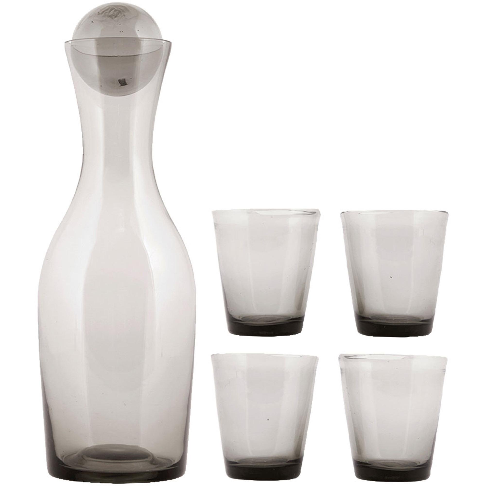 House Doctor Glaskaraff med 4 Glas