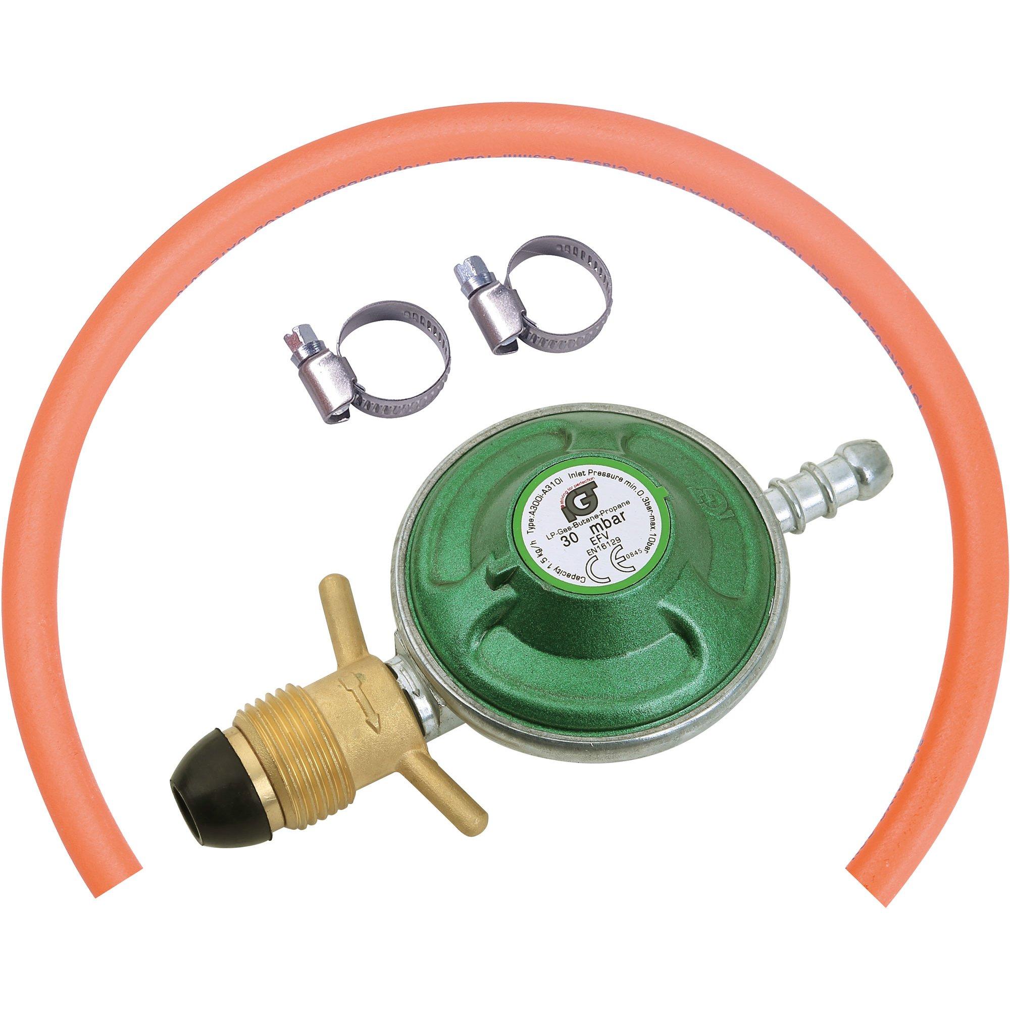 IGT Gasregulator med slang