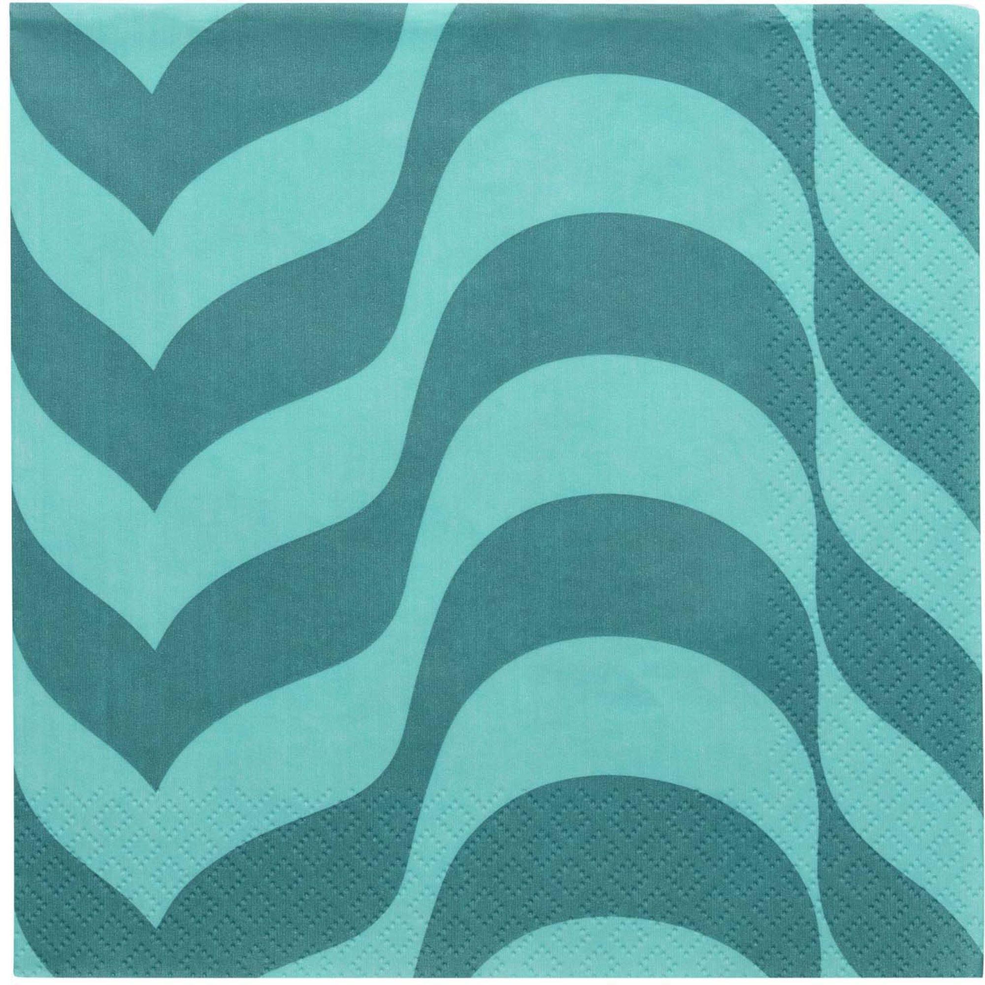 Iittala Aalto servett 33×33 cm havsblå
