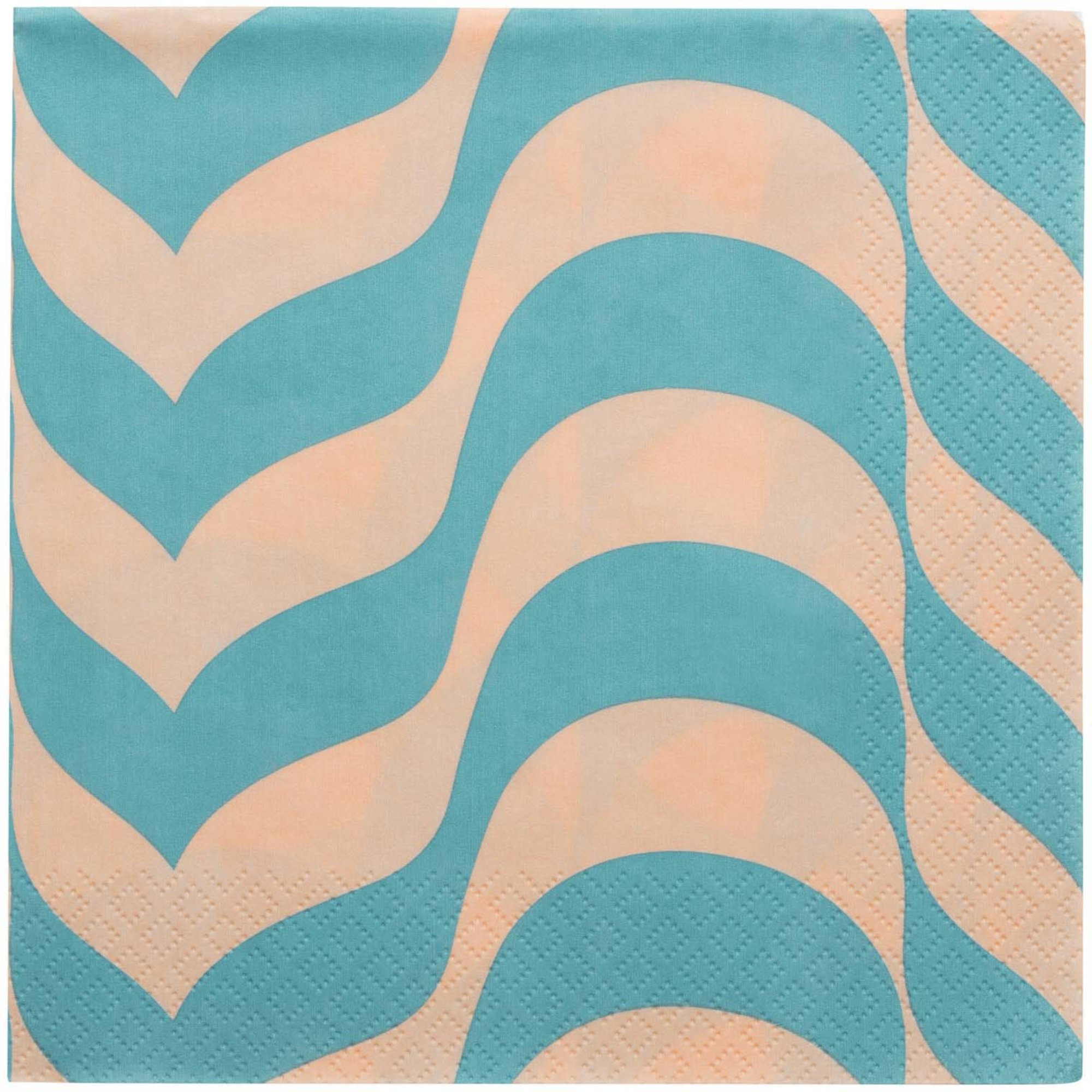 Iittala Aalto servett 33×33 cm havsblå/puder