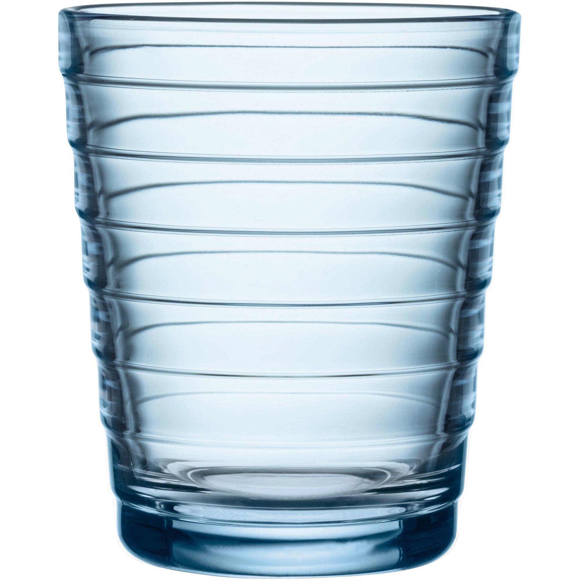 Iittala Aino Aalto Glas 22cl 2st Aqua