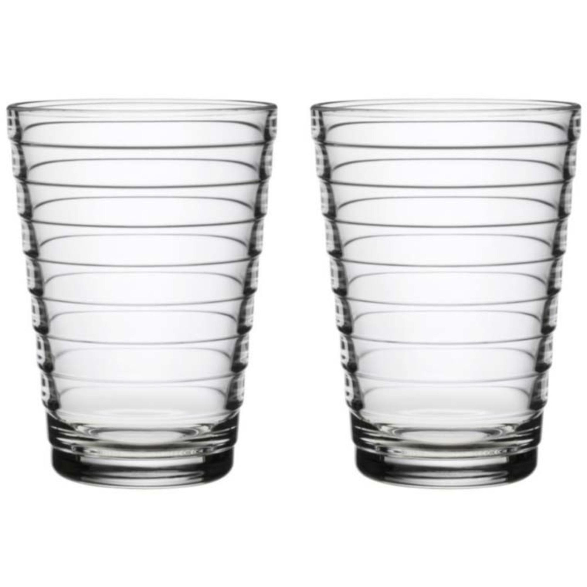 Iittala Aino Aalto Vattenglas Klar 33 cl 2 st