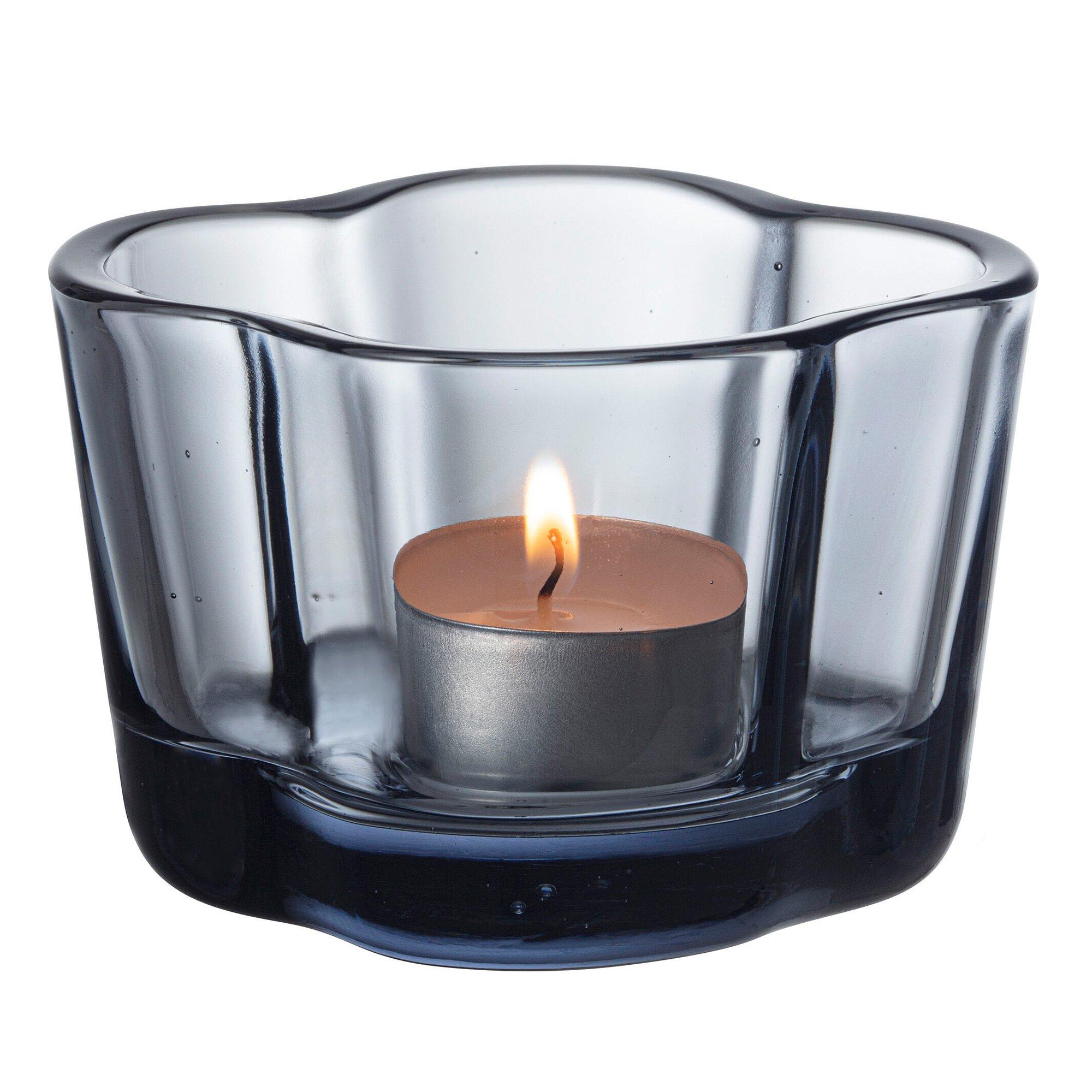 Iittala Alvara Aalto Collection Återvunnet glas Ljuslykta 6 cm.
