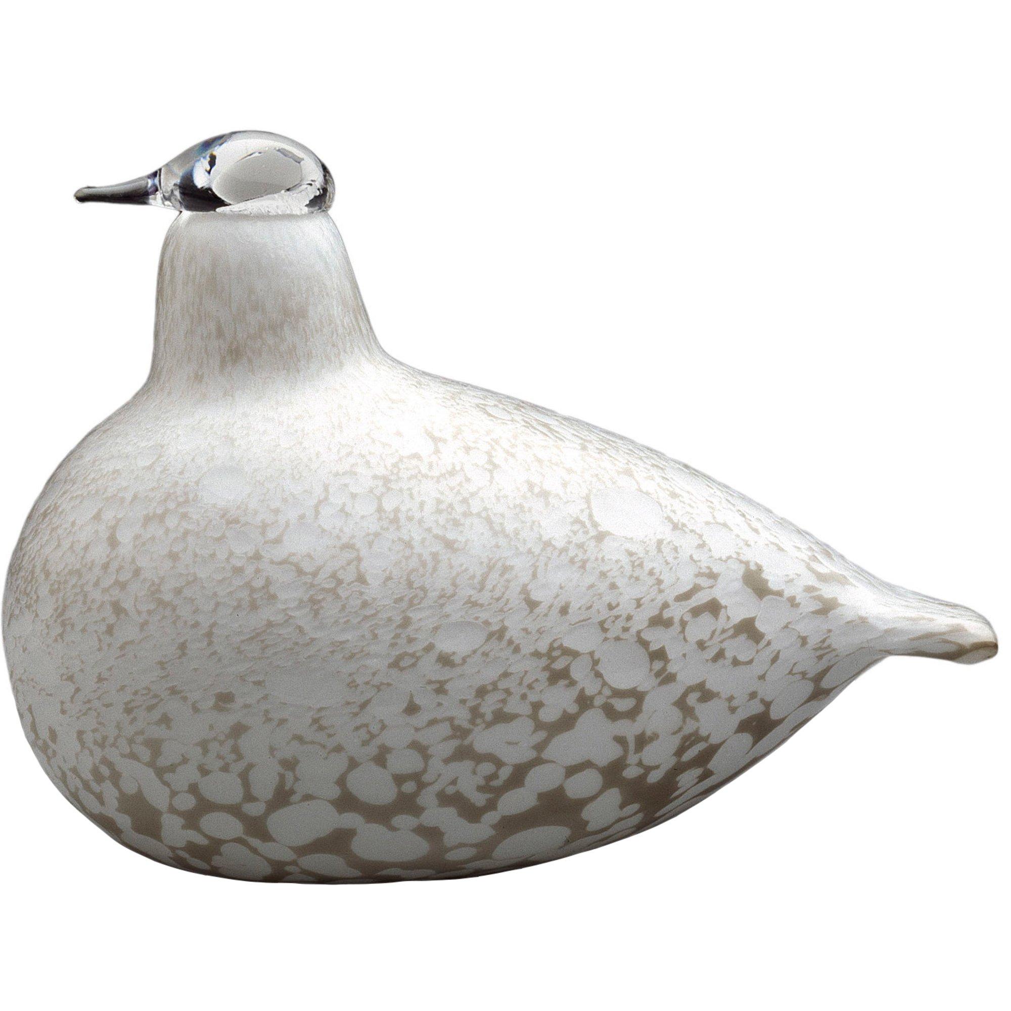 Iittala Birds by Toikka Fjällripa Glasfågel