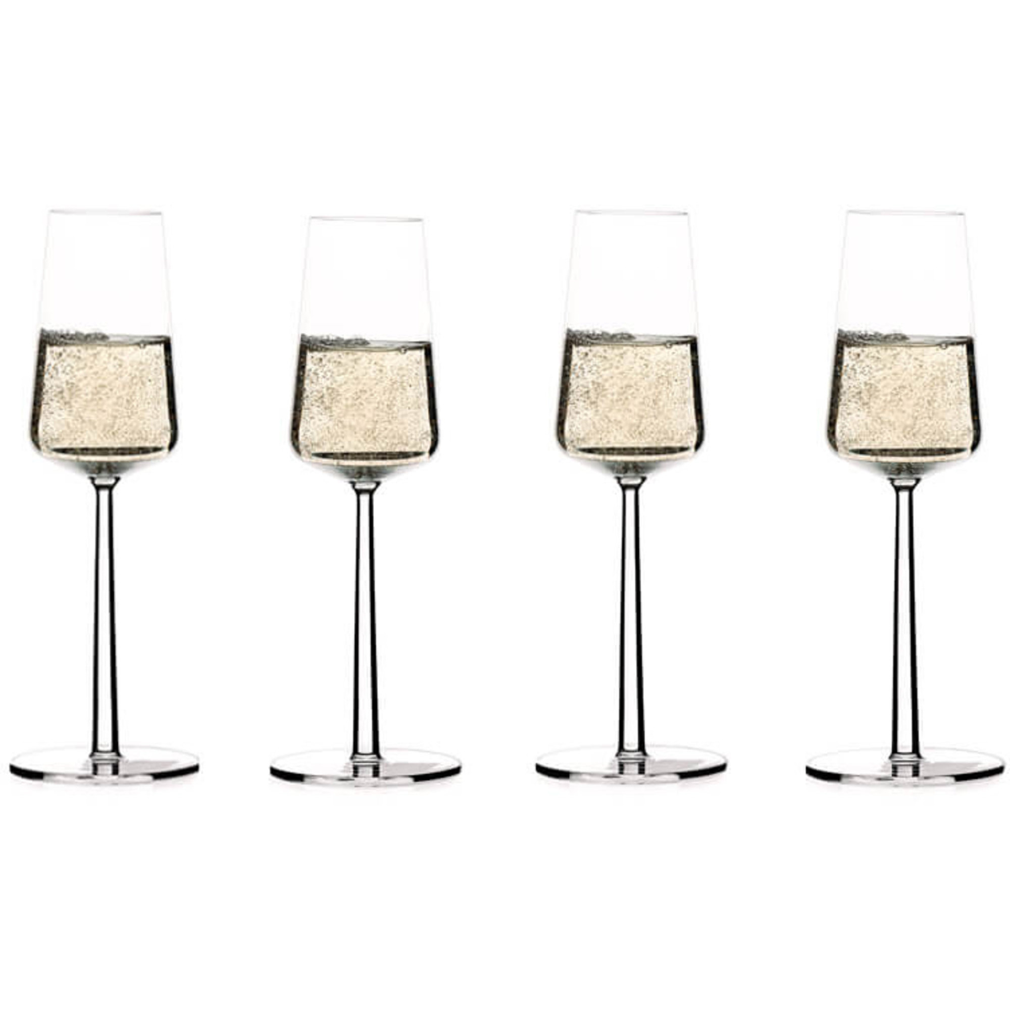 Iittala Essence Champagneglas 21 cl 4-pack