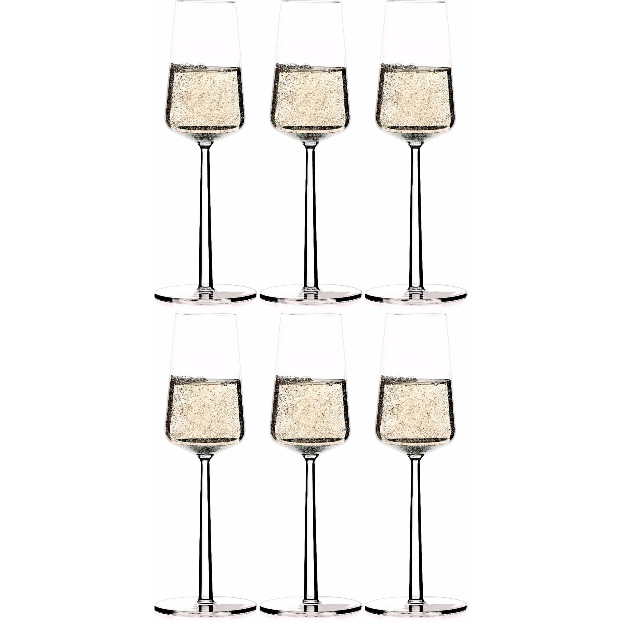 Iittala Essence champagneglas 21 cl 6 st.