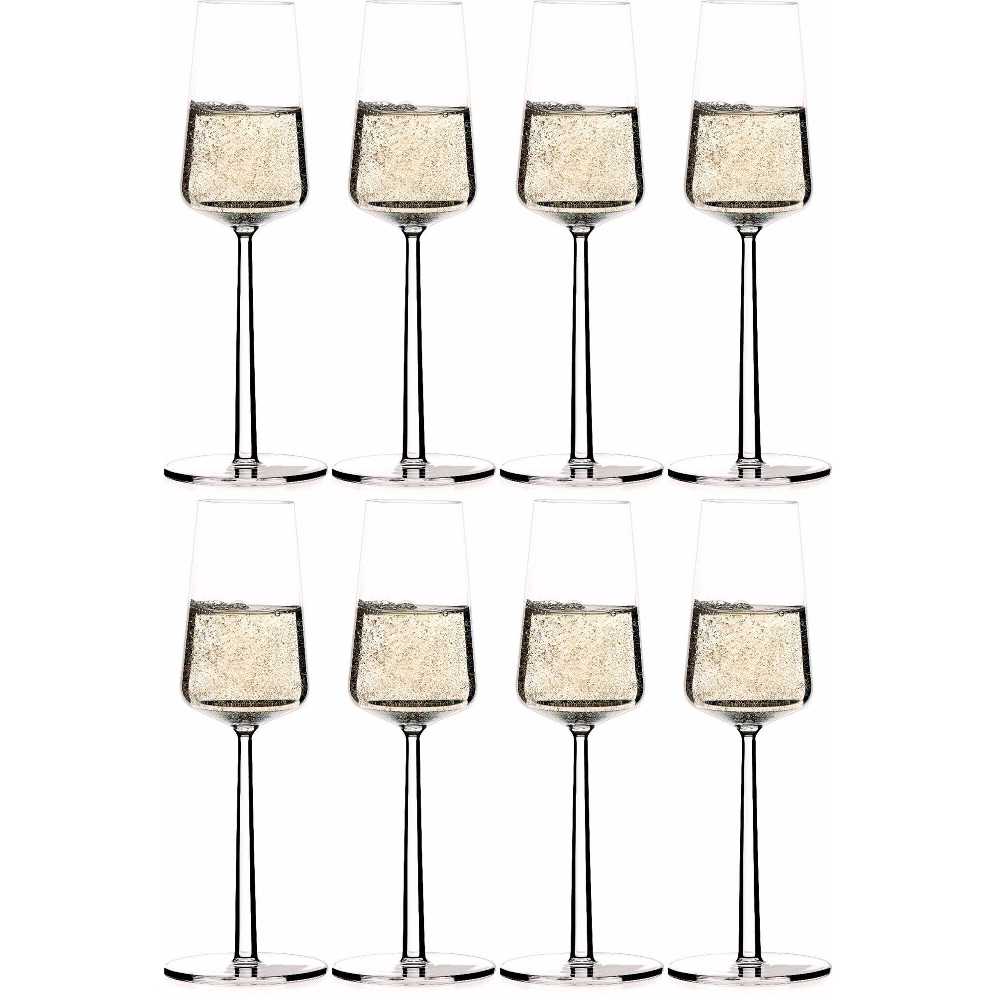 Iittala Essence champagneglas 21 cl. 8 st.