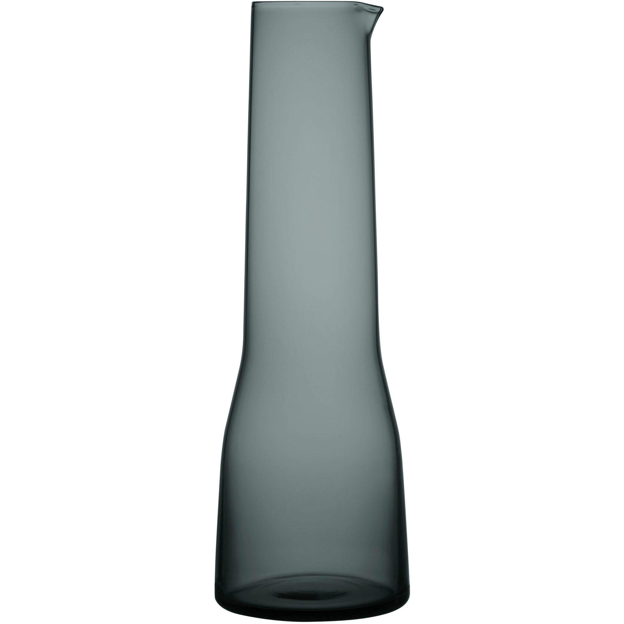Iittala Essence Karaff 1 liter Mörkgrå