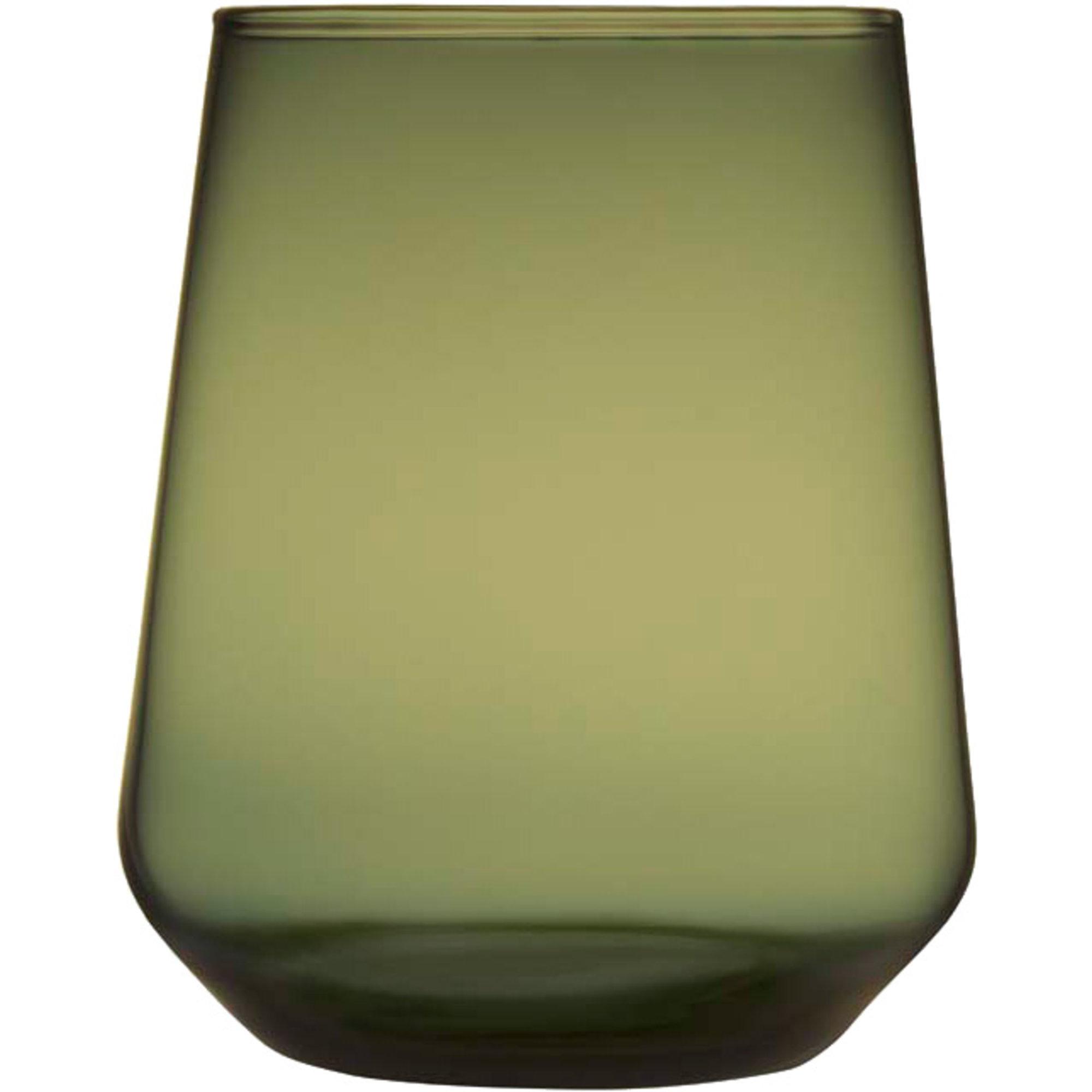 Iittala Essence dricksglas 35 cl mossgrön 2 st
