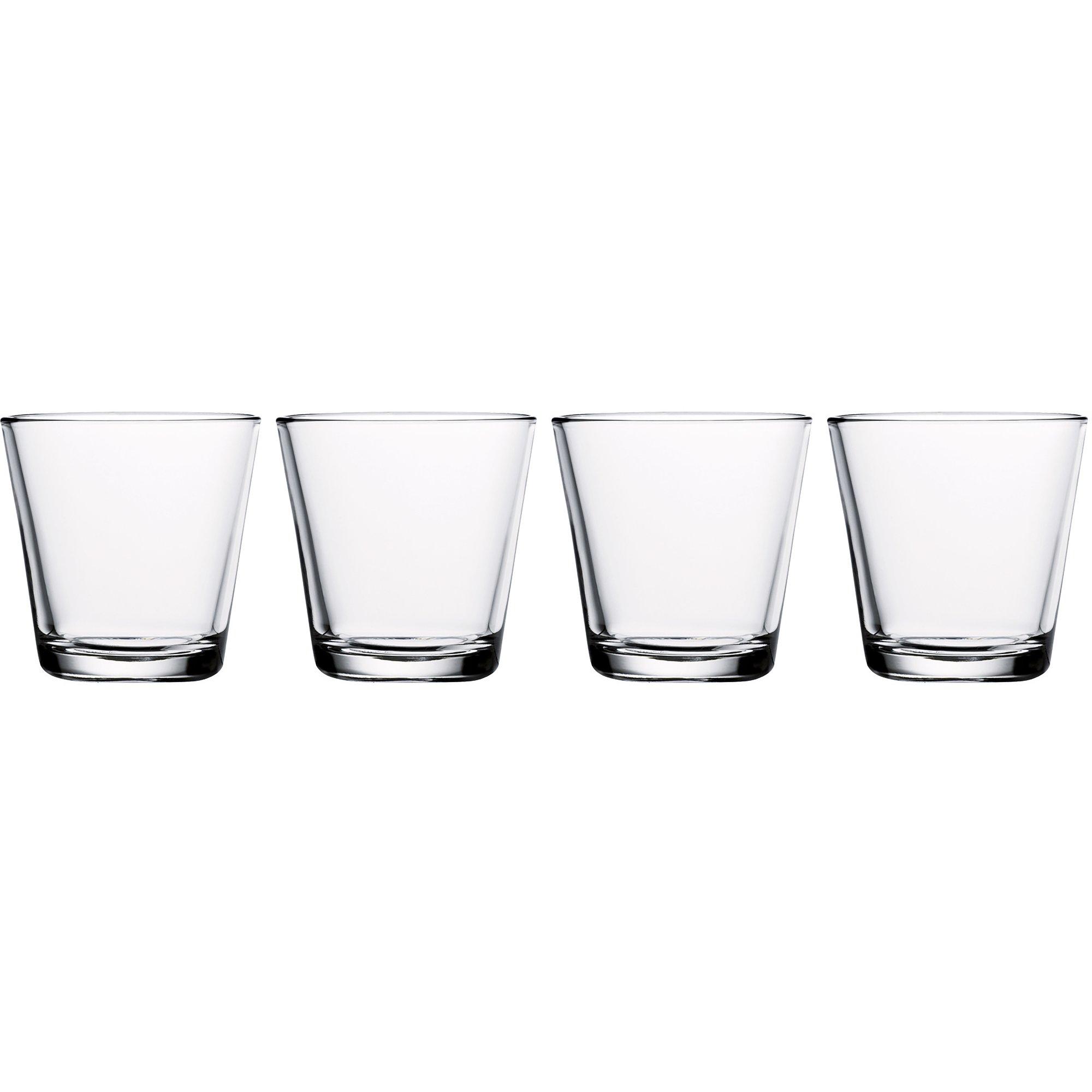 Iittala Kartio dricksglas 21 cl. 4 st. klar