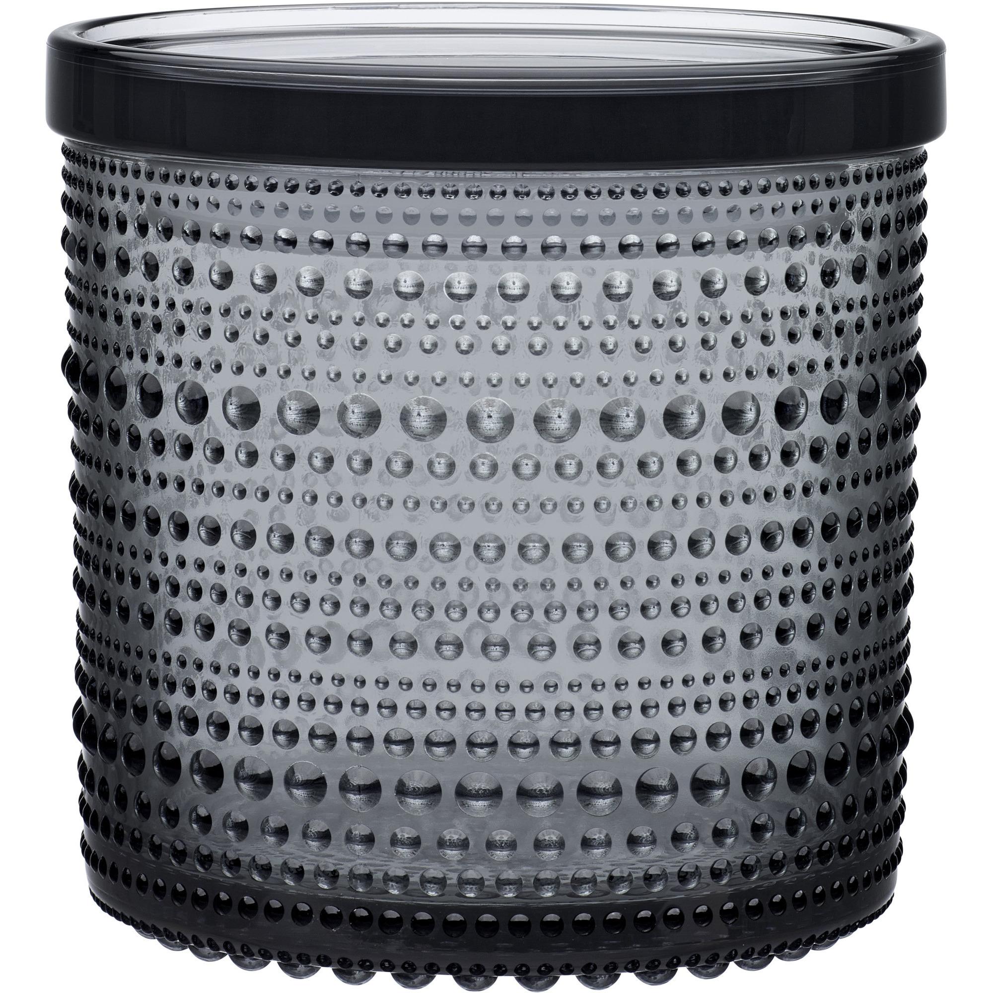 Iittala Kastehelmi Burk 116×114 mm Grå