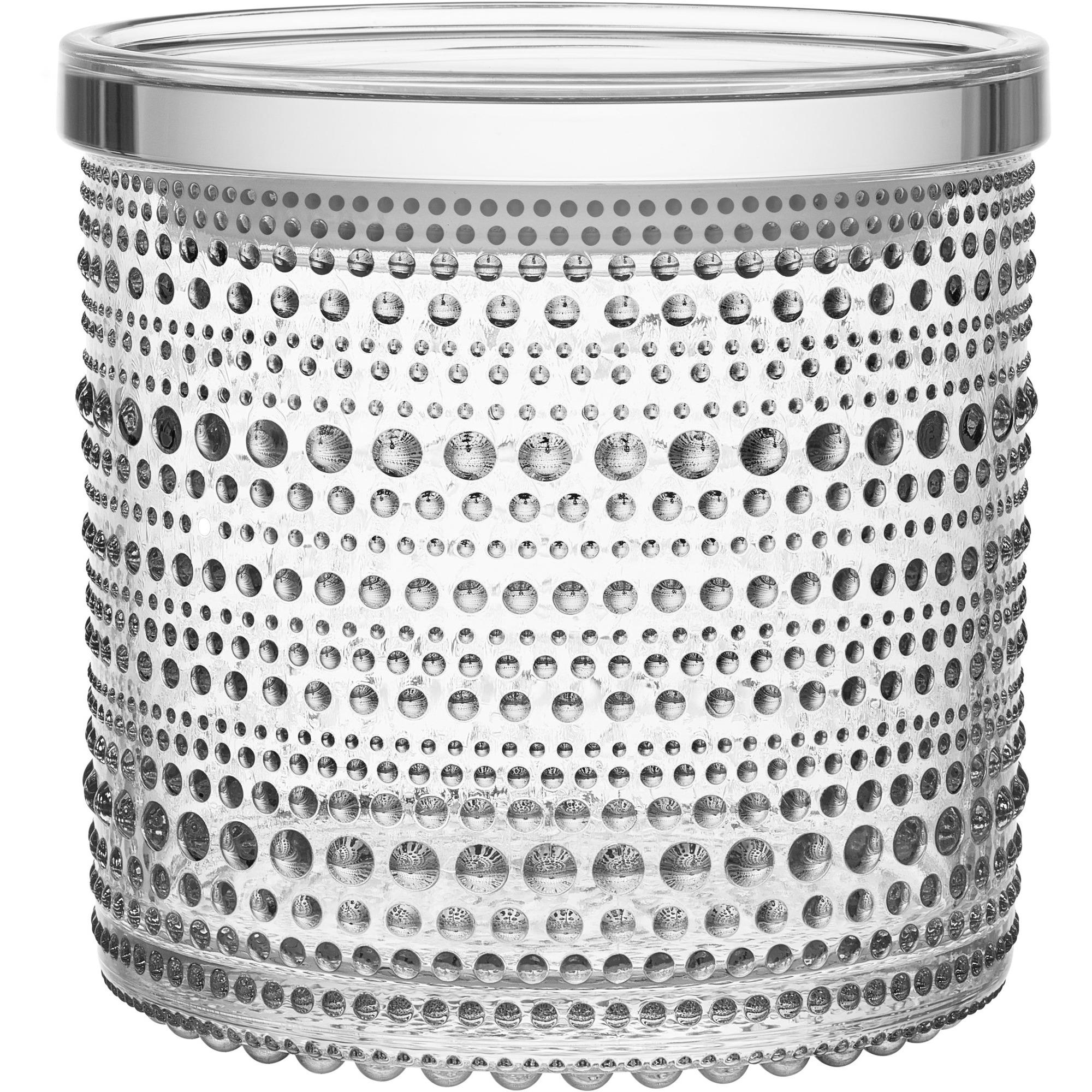 Iittala Kastehelmi Burk 116×114 mm Klar