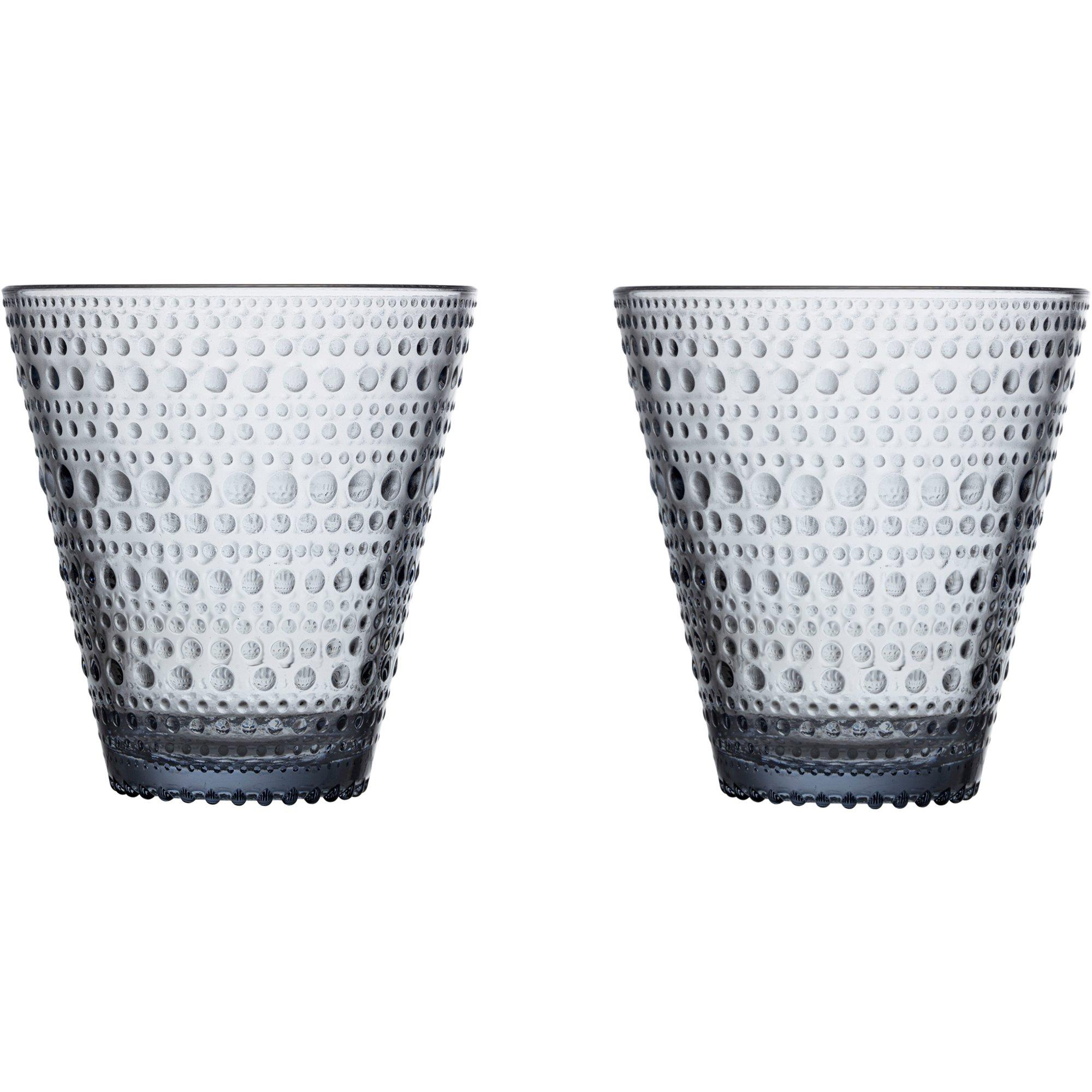 Iittala Kastehelmi Dricksglas 2 st. Återvunnet glas