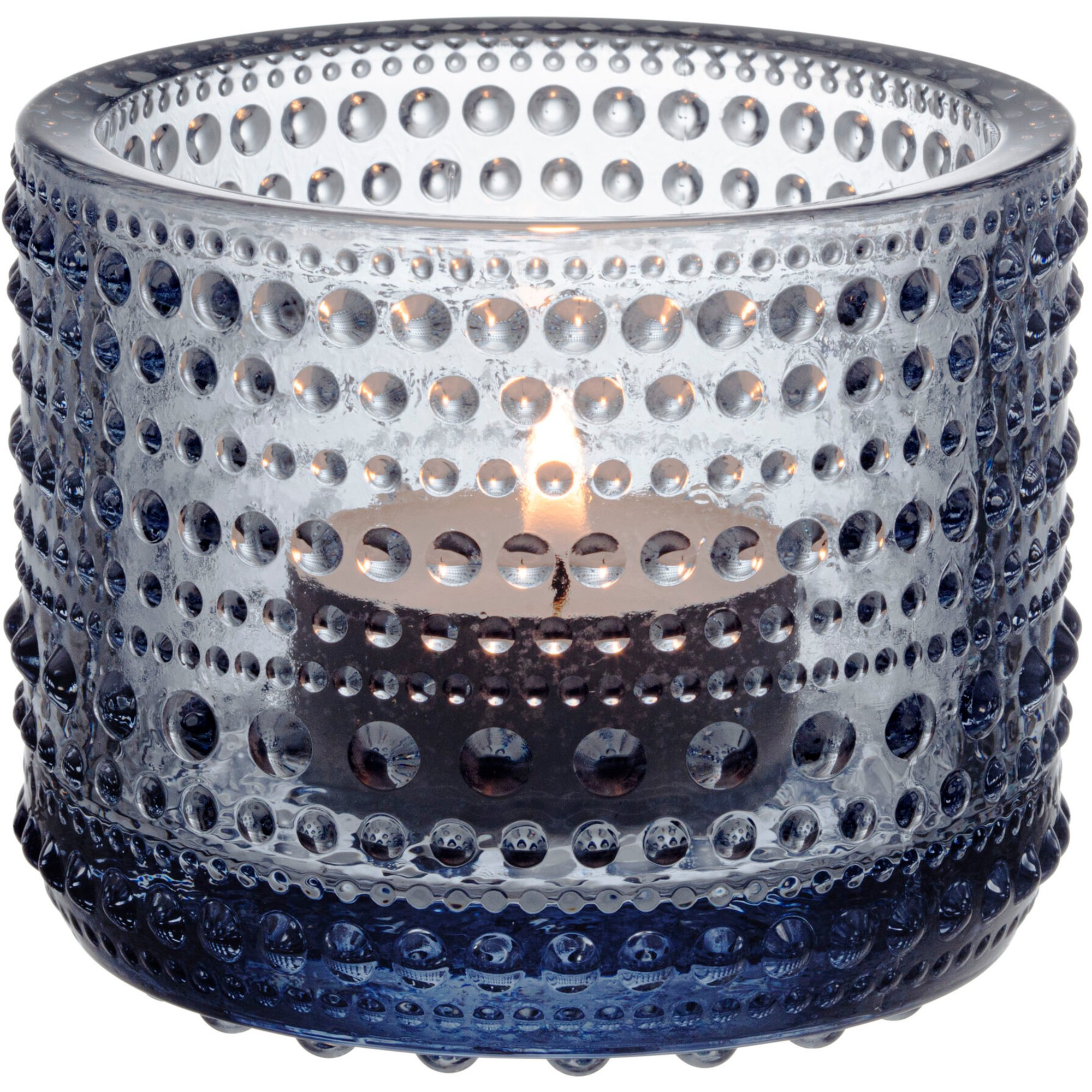Iittala Kastehelmi Återvunnet Glas Ljuslykta 6,4 cm.