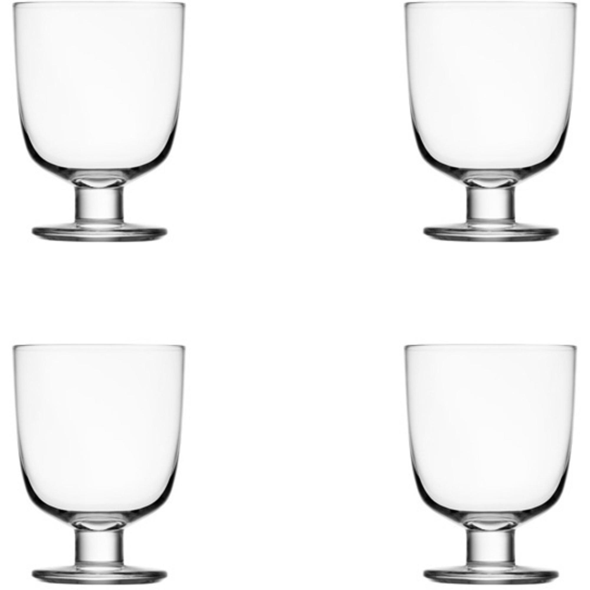 Iittala Lempi Glas 34 cl Klar 4 st