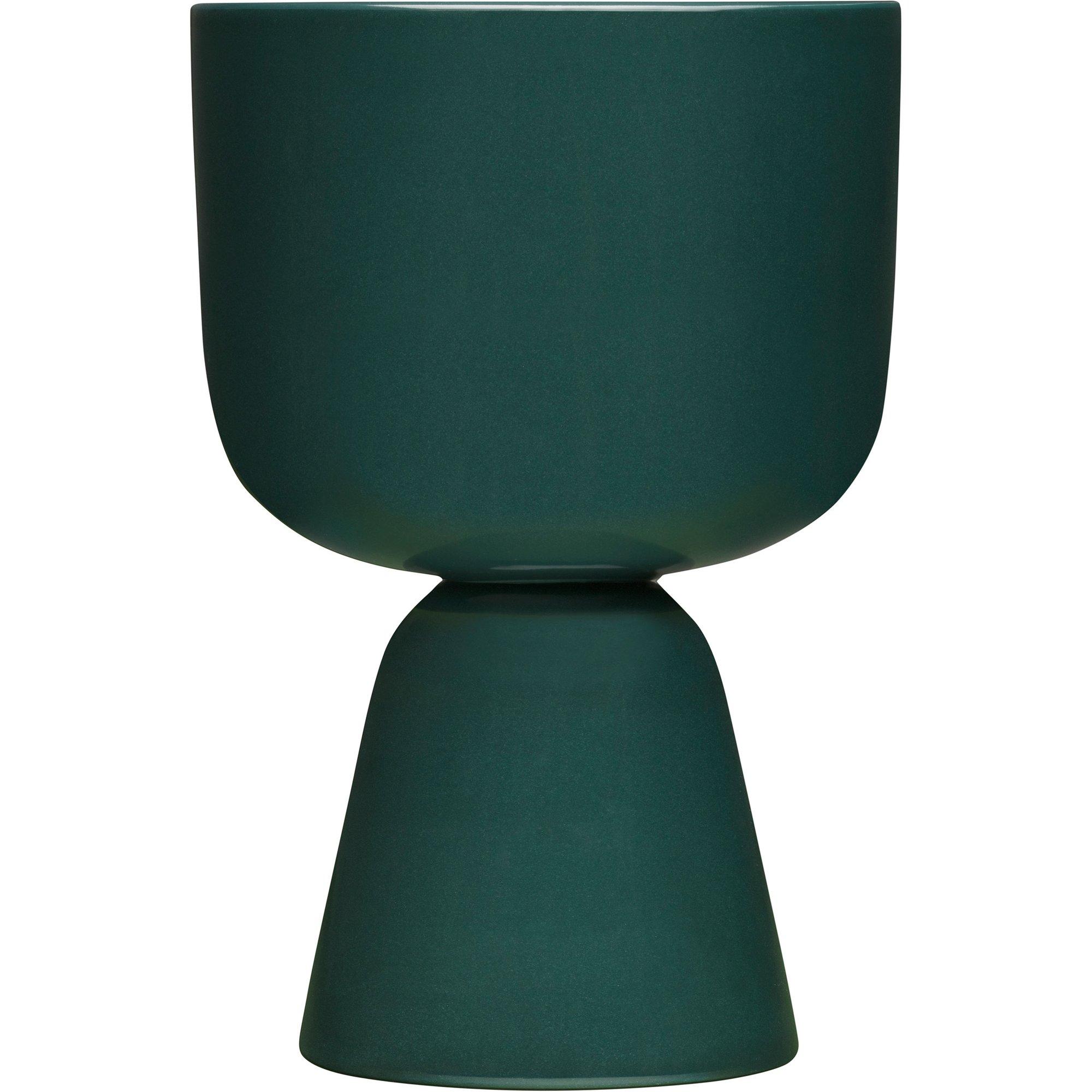 Iittala Nappula kruka 230x155mm mörkgrön