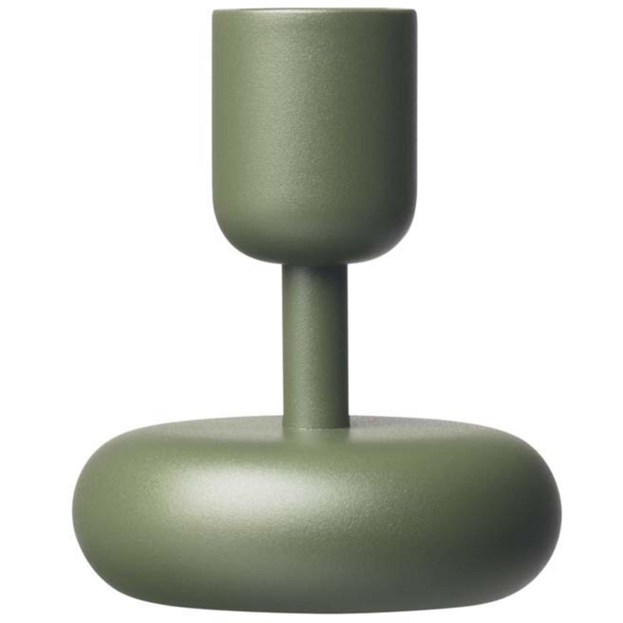 Iittala Nappula ljusstake 107 mm mossgrön