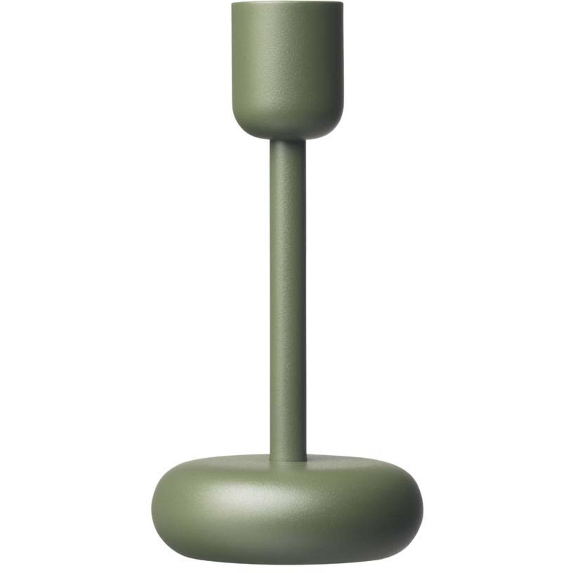 Iittala Nappula ljusstake 183 mm mossgrön