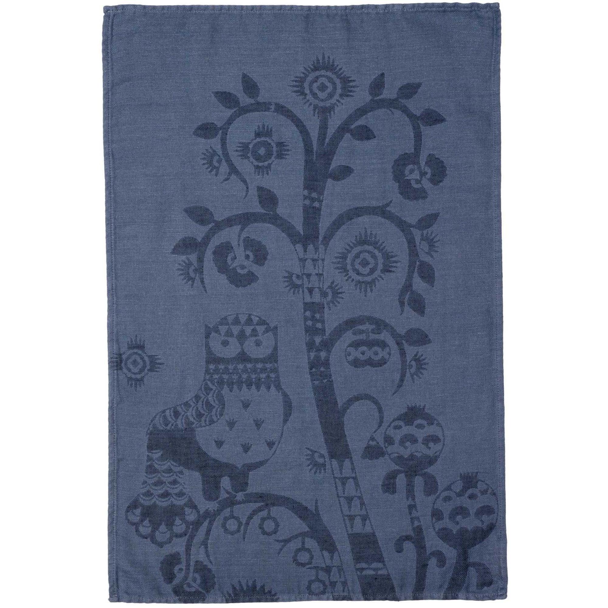 Iittala Taika kökshandduk 47×70 cm blå