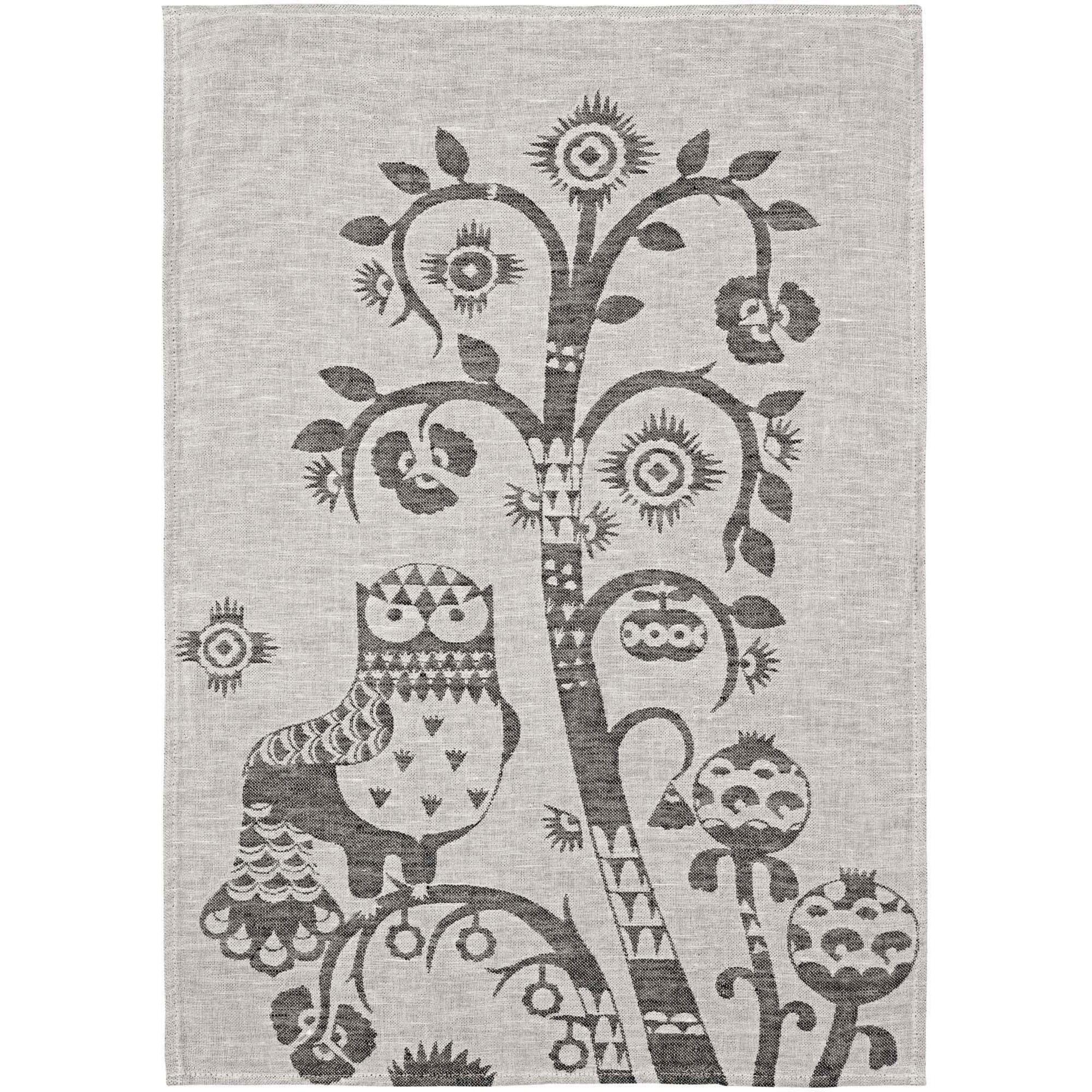 Iittala Taika kökshandduk 47×70 cm grå