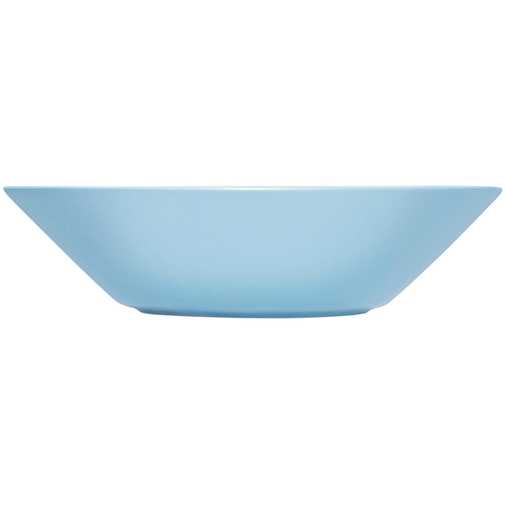 Iittala Teema tallrik djup 21 cm ljusblå