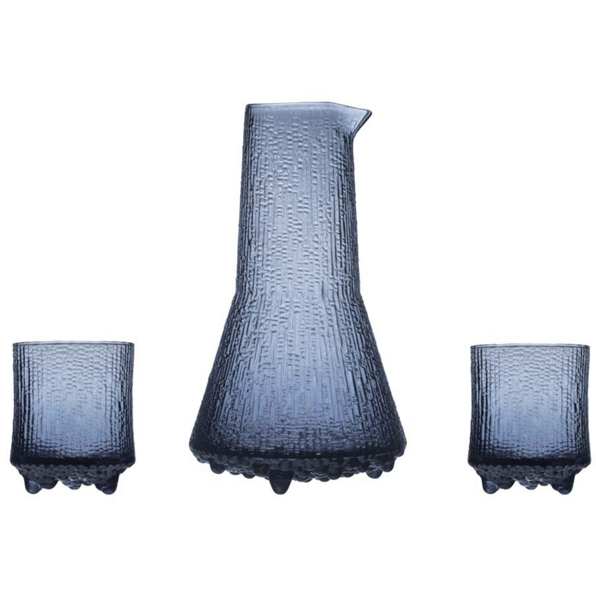 Iittala Ultima Thule glas 20 cl+kanna 50 cl regn 3 st