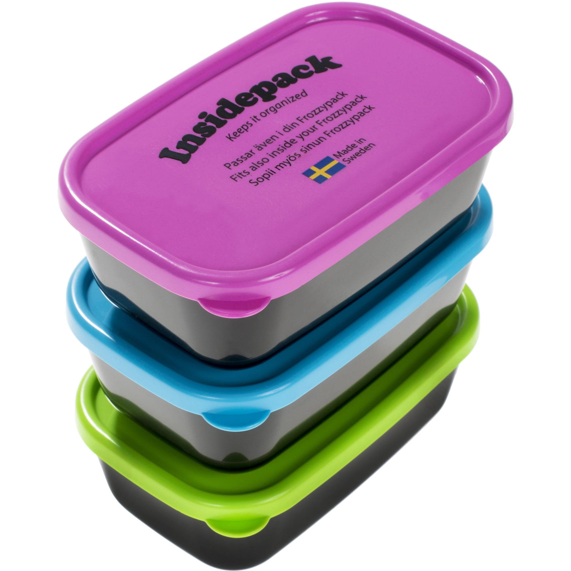 Frozzypack Inside 3-pack Plastlådor Originalfärg