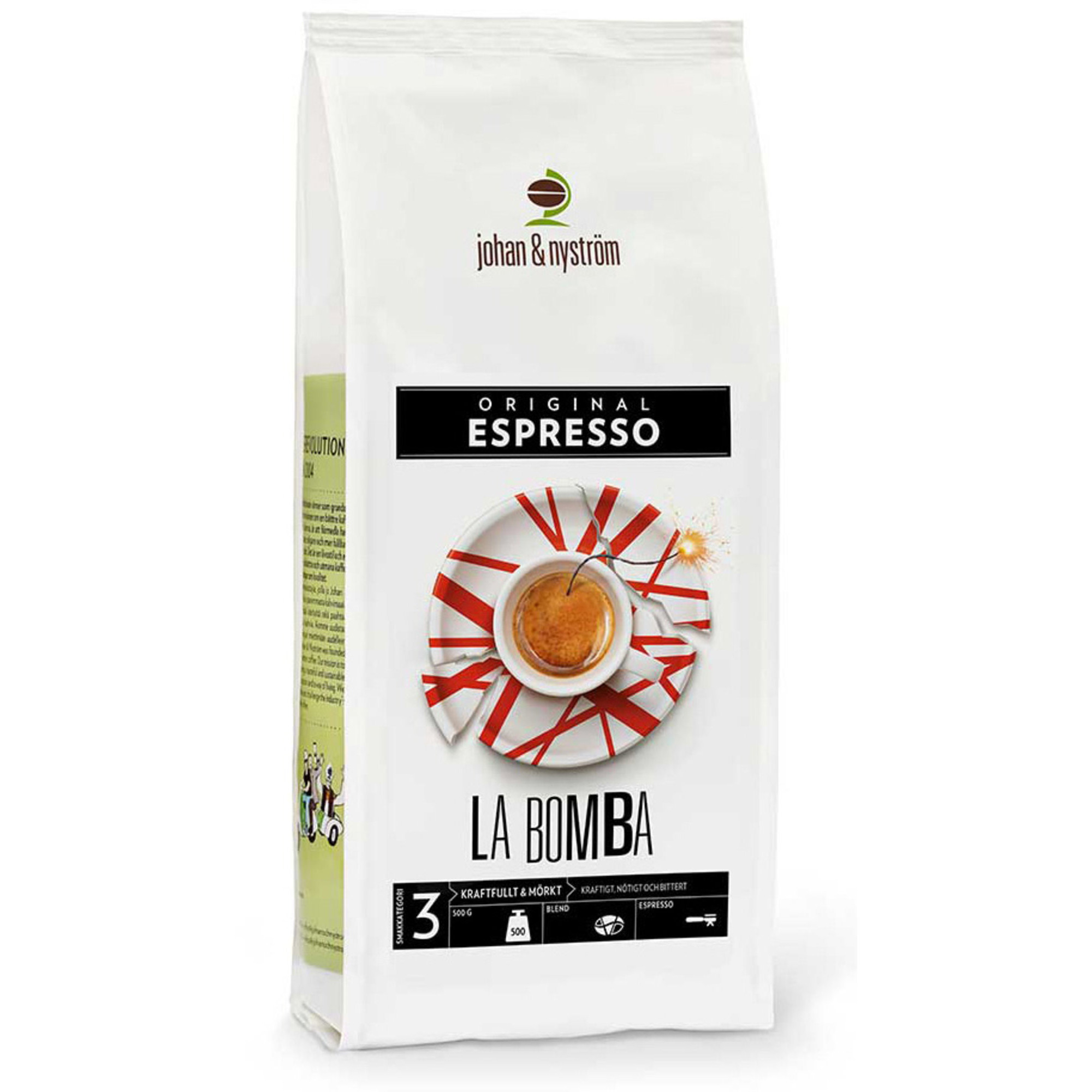 Johan & Nyström Espresso La Bomba 500g