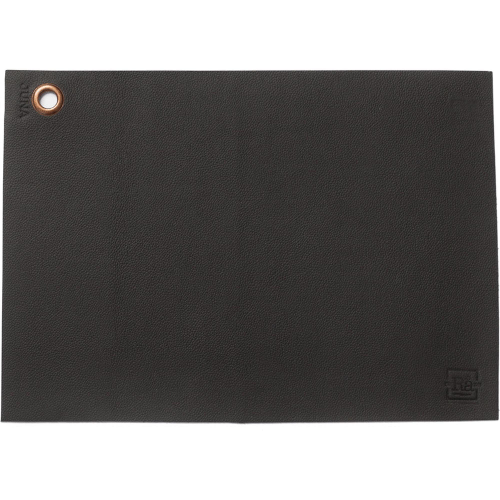 Juna Rå Bordstablett svart 43×30 cm