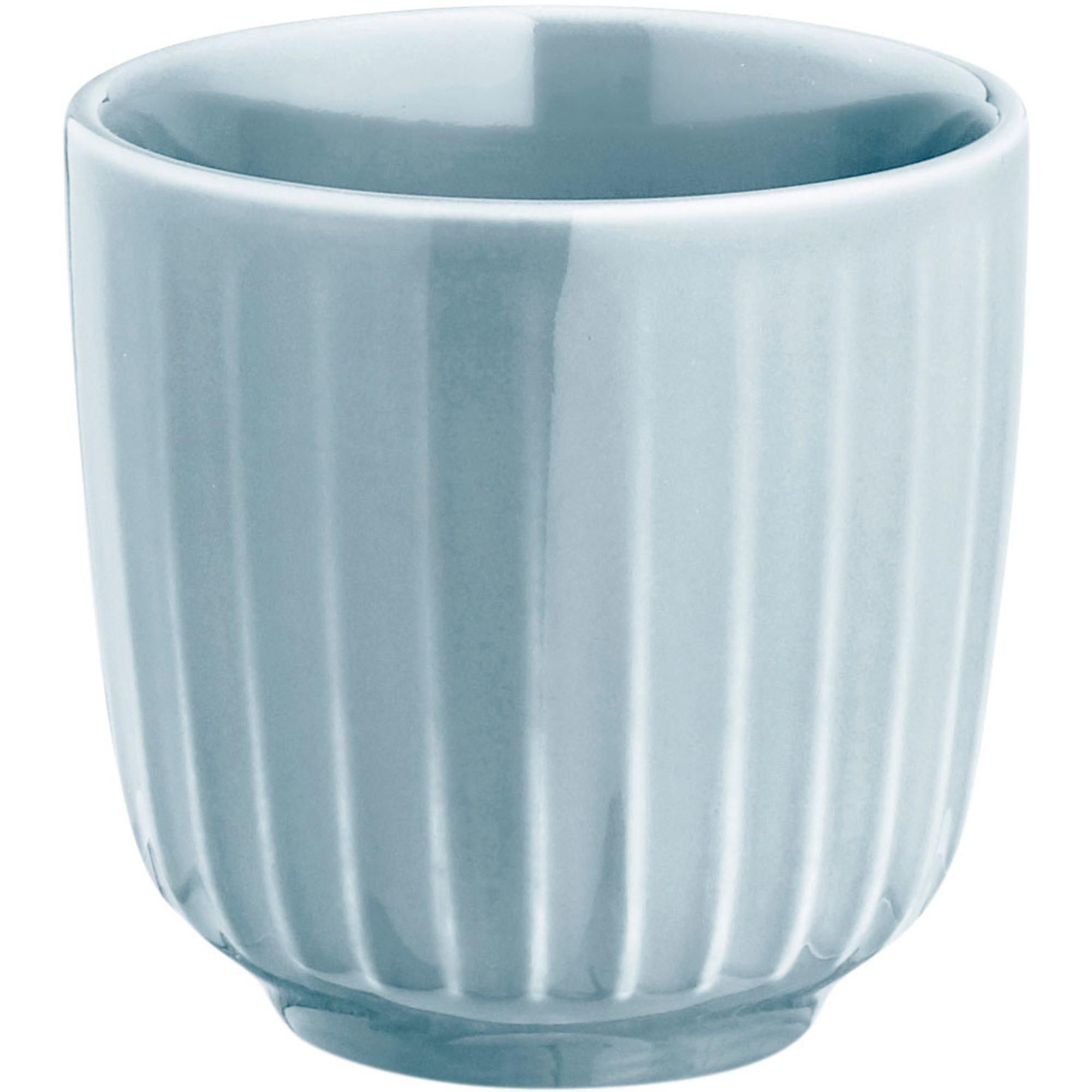 Kähler Hammersøi Espressokopp 10 cl Blå