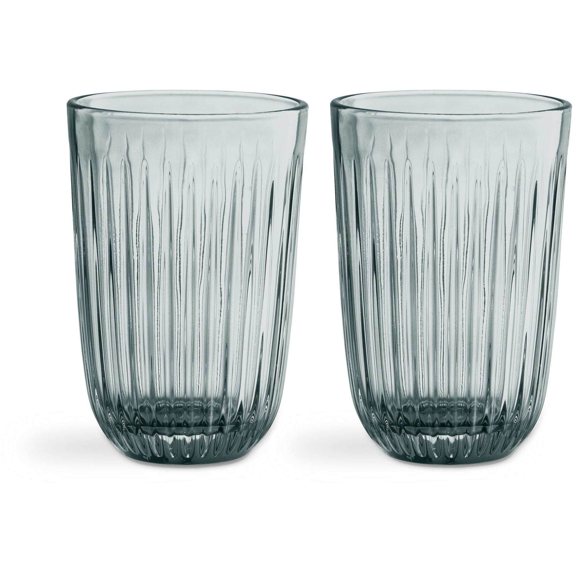 Kähler Hammershøi Glas 33 cl 2-pack Grön