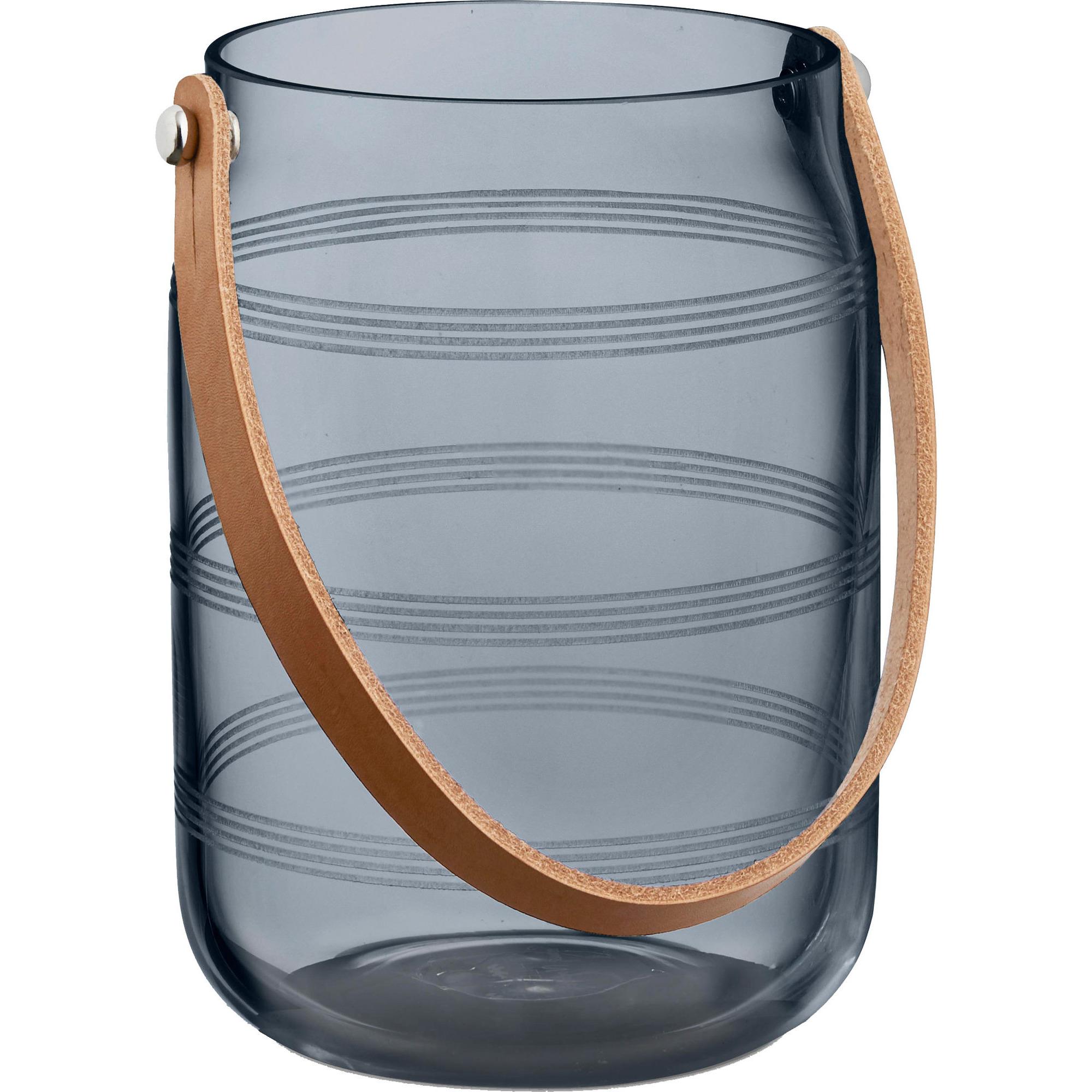 Kähler Omaggio Lanterna 16 cm Stålblå