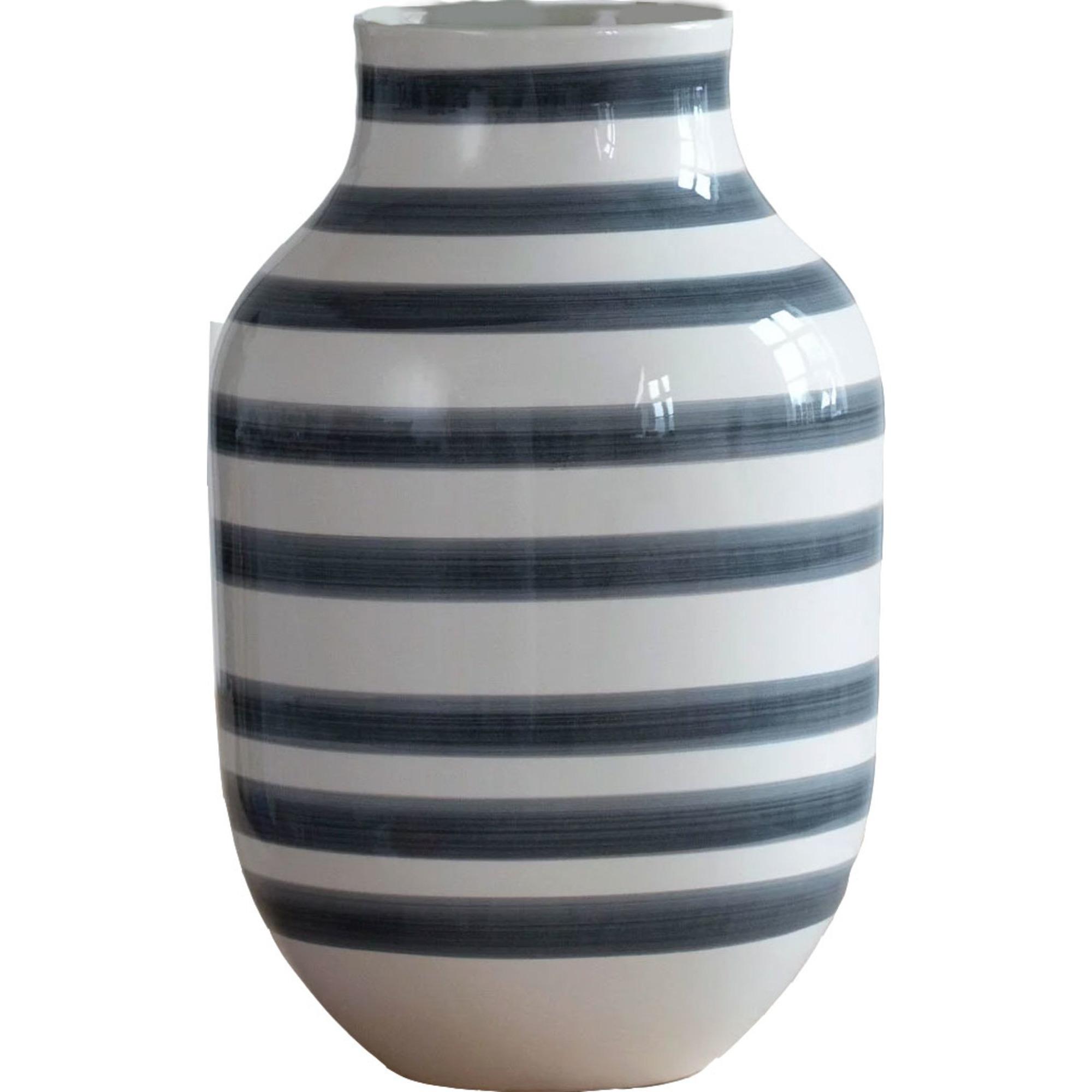 Kähler Omaggio Vas H125 Granitgrå