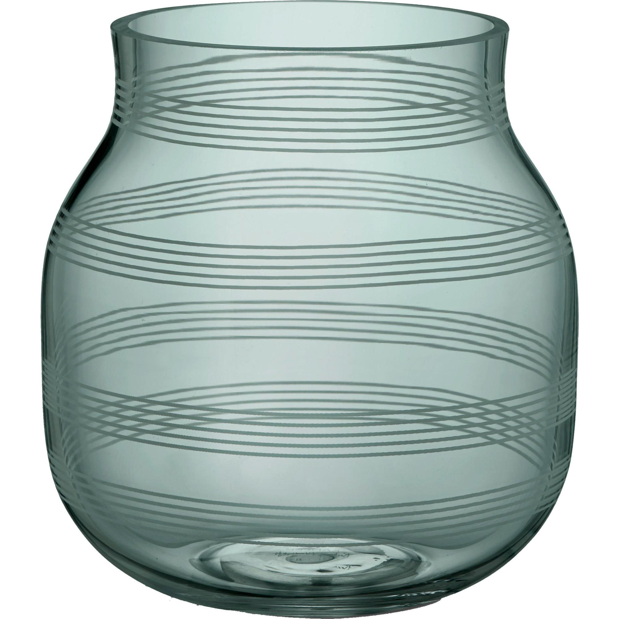 Kähler Omaggio Vas Ø16 cm Grön