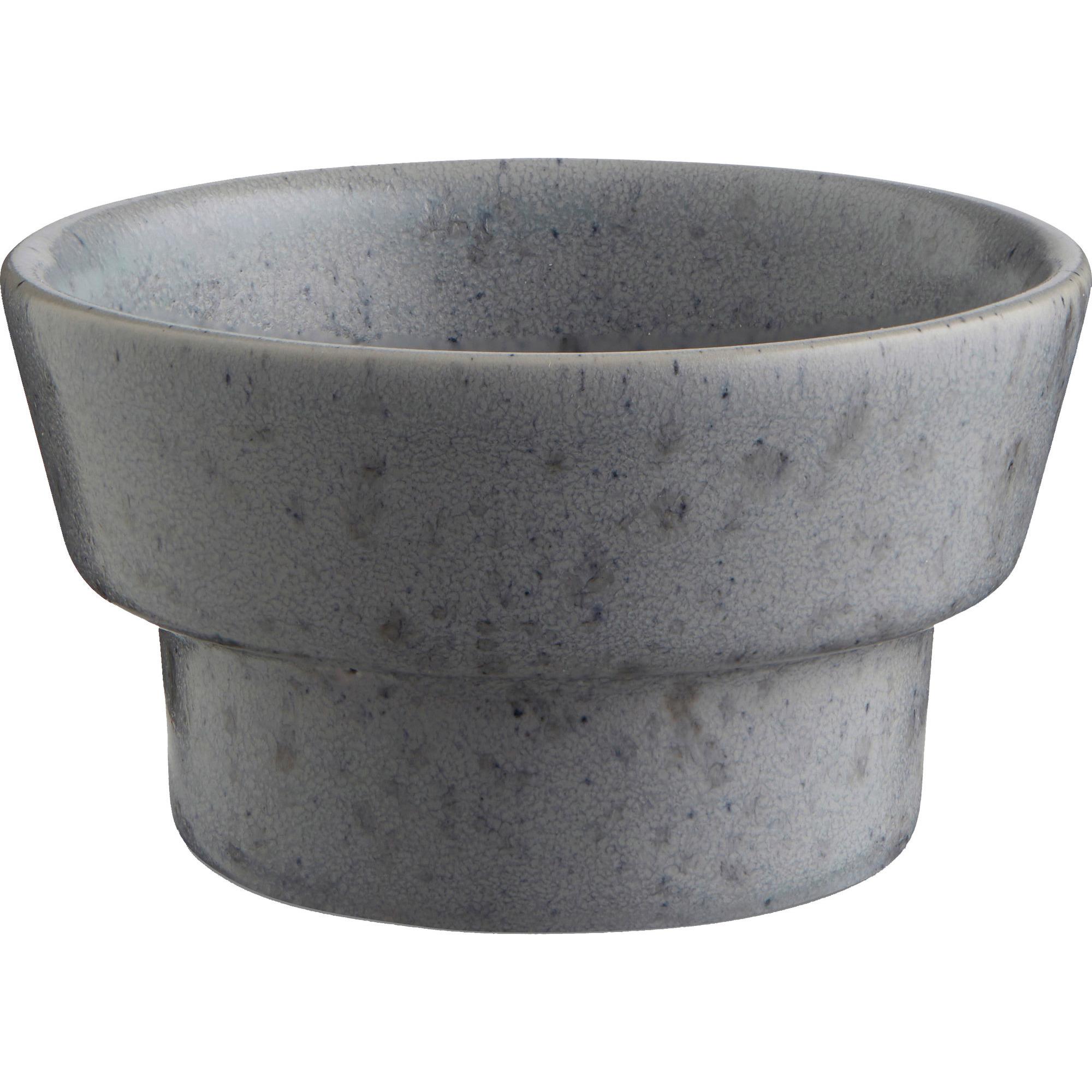 Kähler Ombria Blockljusstake 50 mm Slate Grey