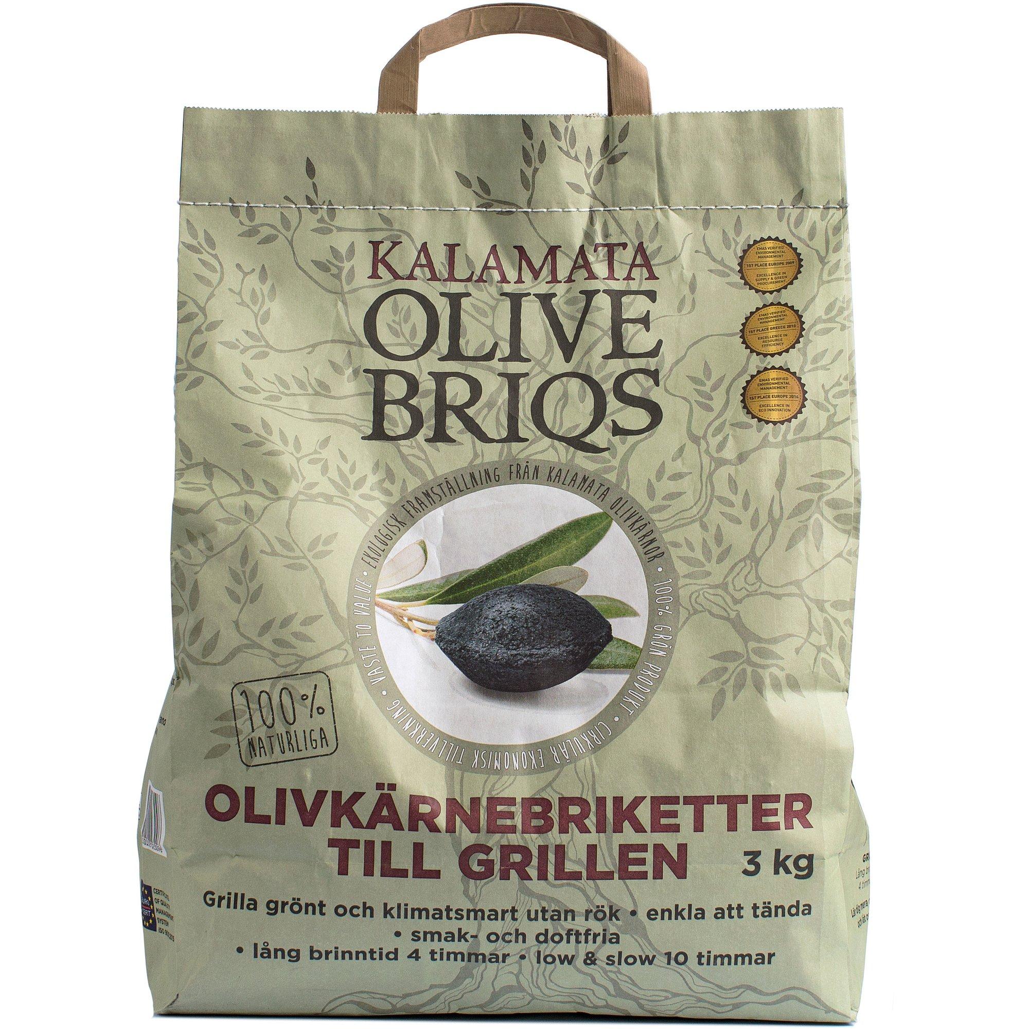 Billede af Kalamata Olivenbriketter 3 kg.