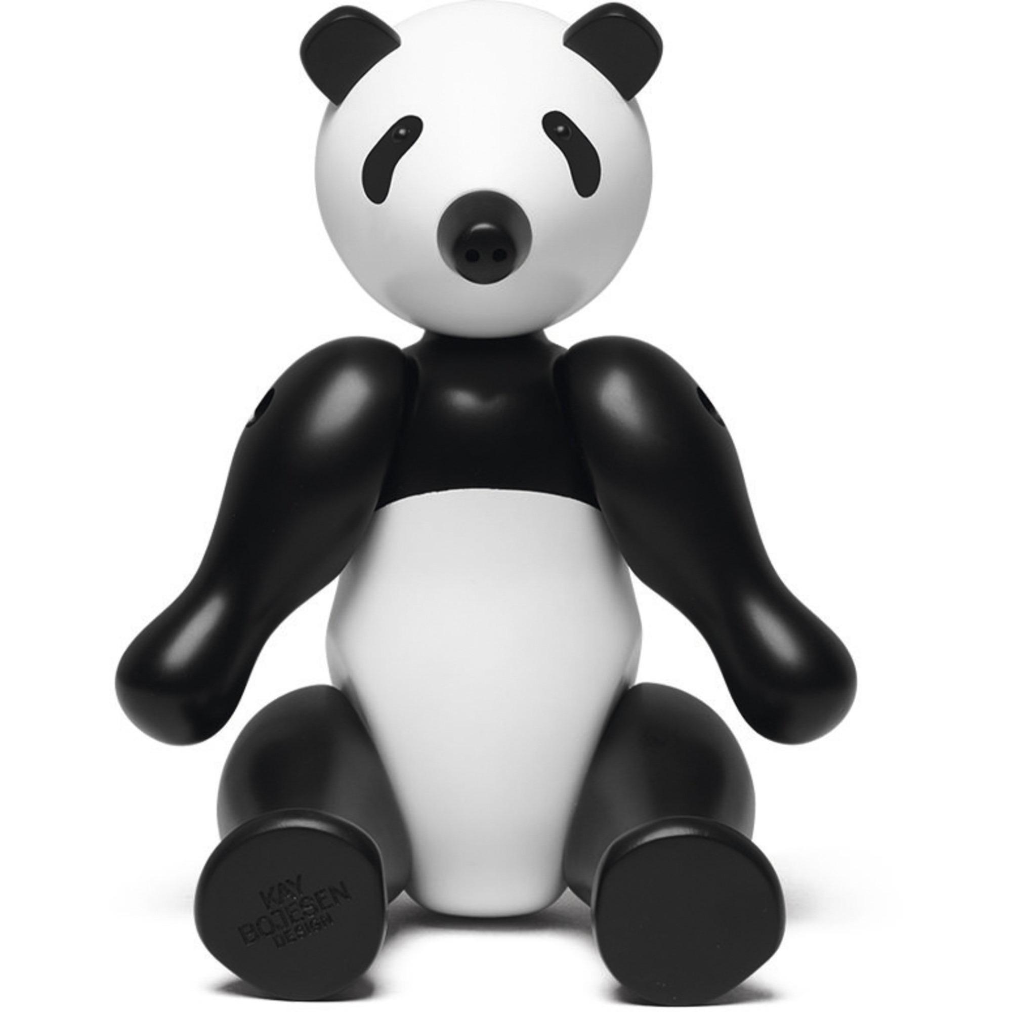 Kay Bojesen Panda Svart/vit